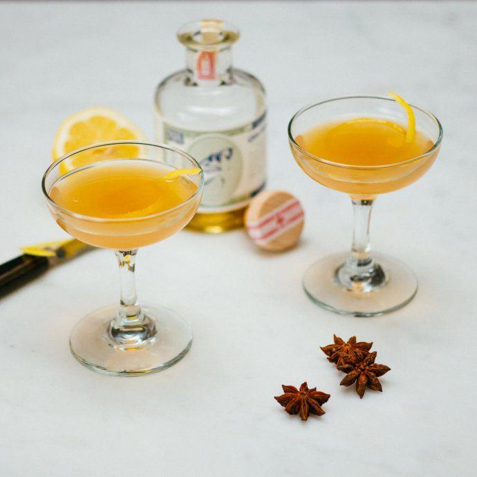 The absinthe special cocktail from the savoy cocktail book