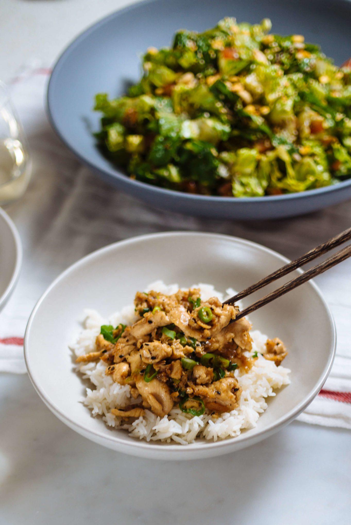 Burma Superstar cookbook Sesame Chicken made by The Taste SF