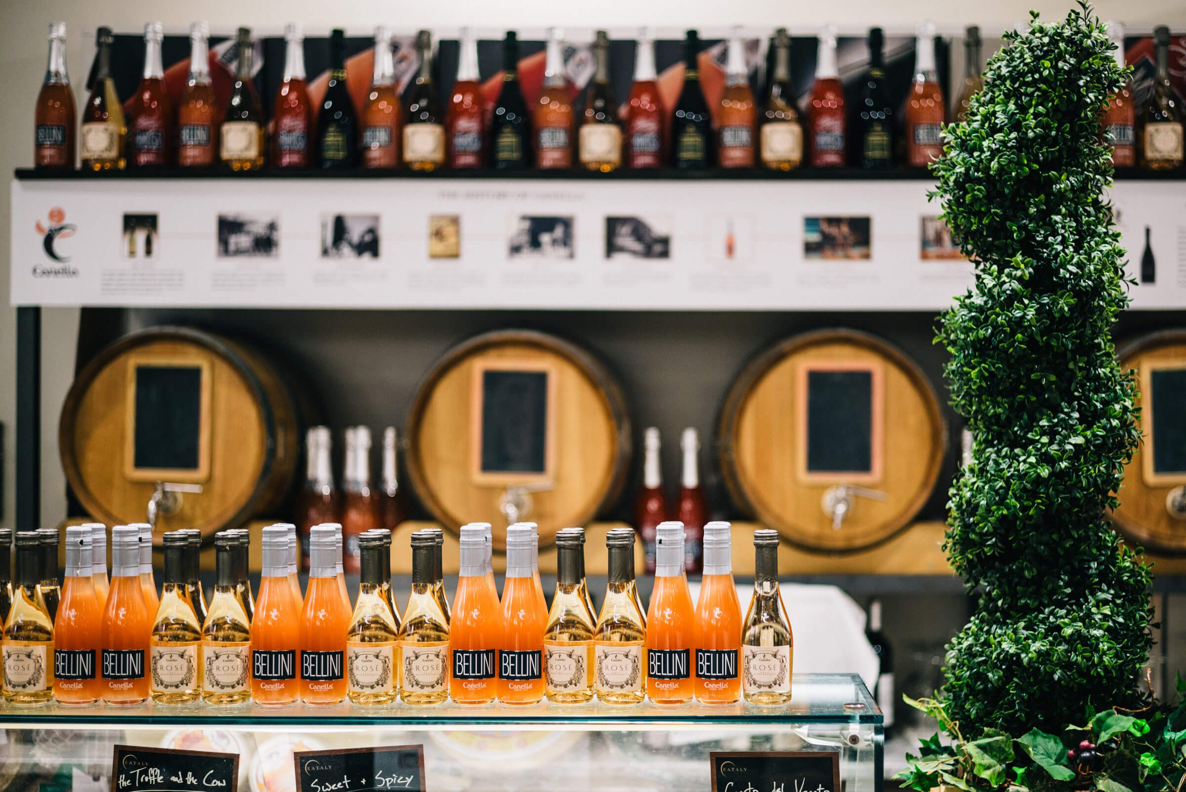 Eataly Chicago's bellini bar photo by the taste edit