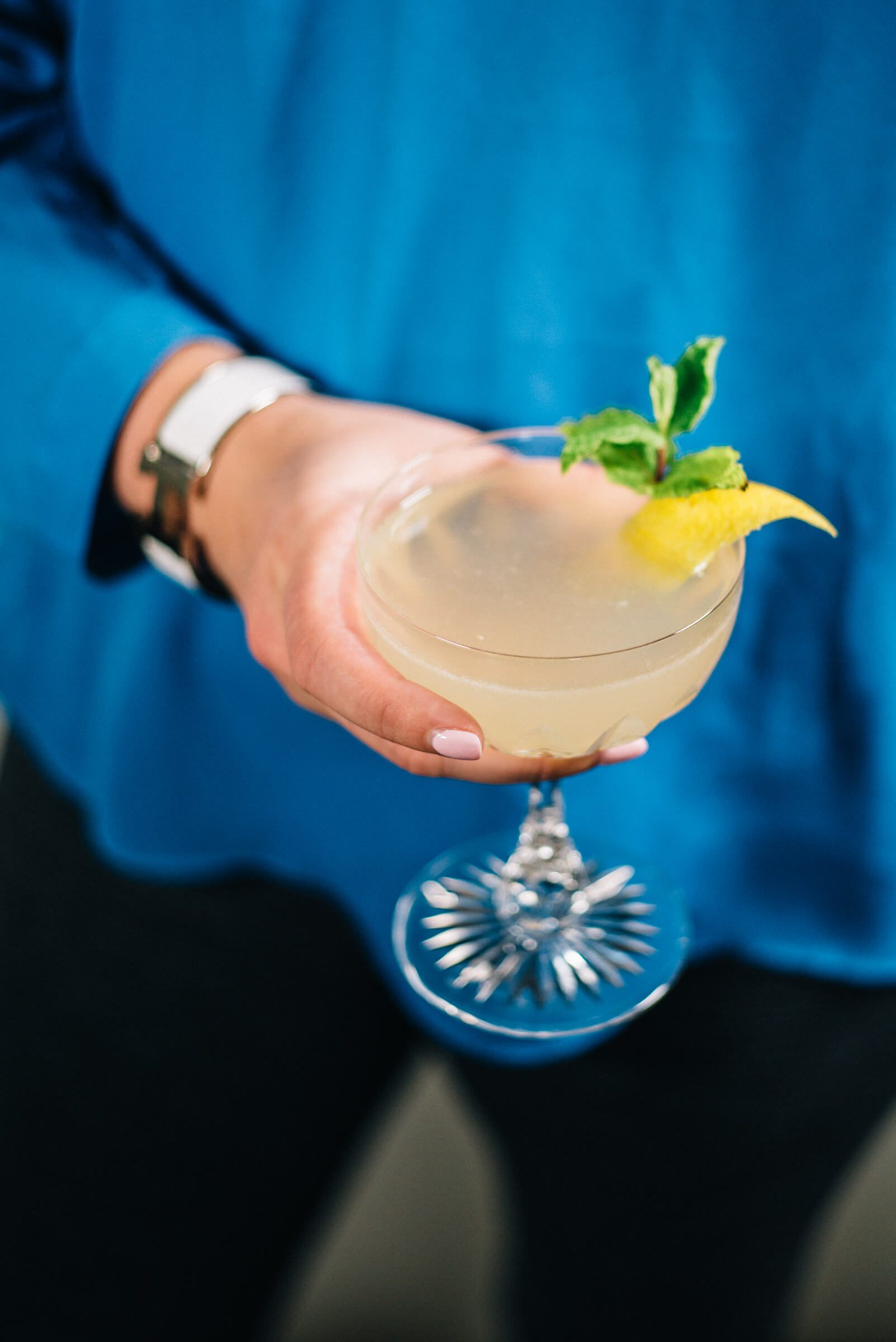 The Taste Edit makes Citrus Special Cocktail made with rum and lime juice and pineapple gum syrup which is a simple recipe.
