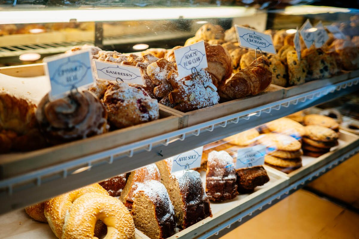 Jeannine's has a selection of pastries to choose from in Montecito | thetasteedit.com #travel #breakfast #santabarbara #california