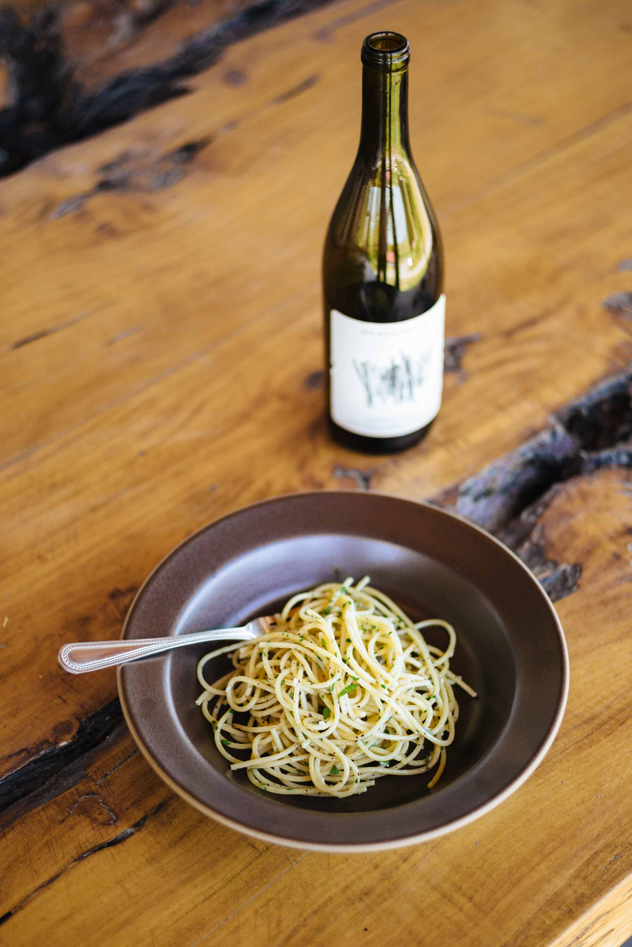 Try this spaghetti anchovy caper recipe