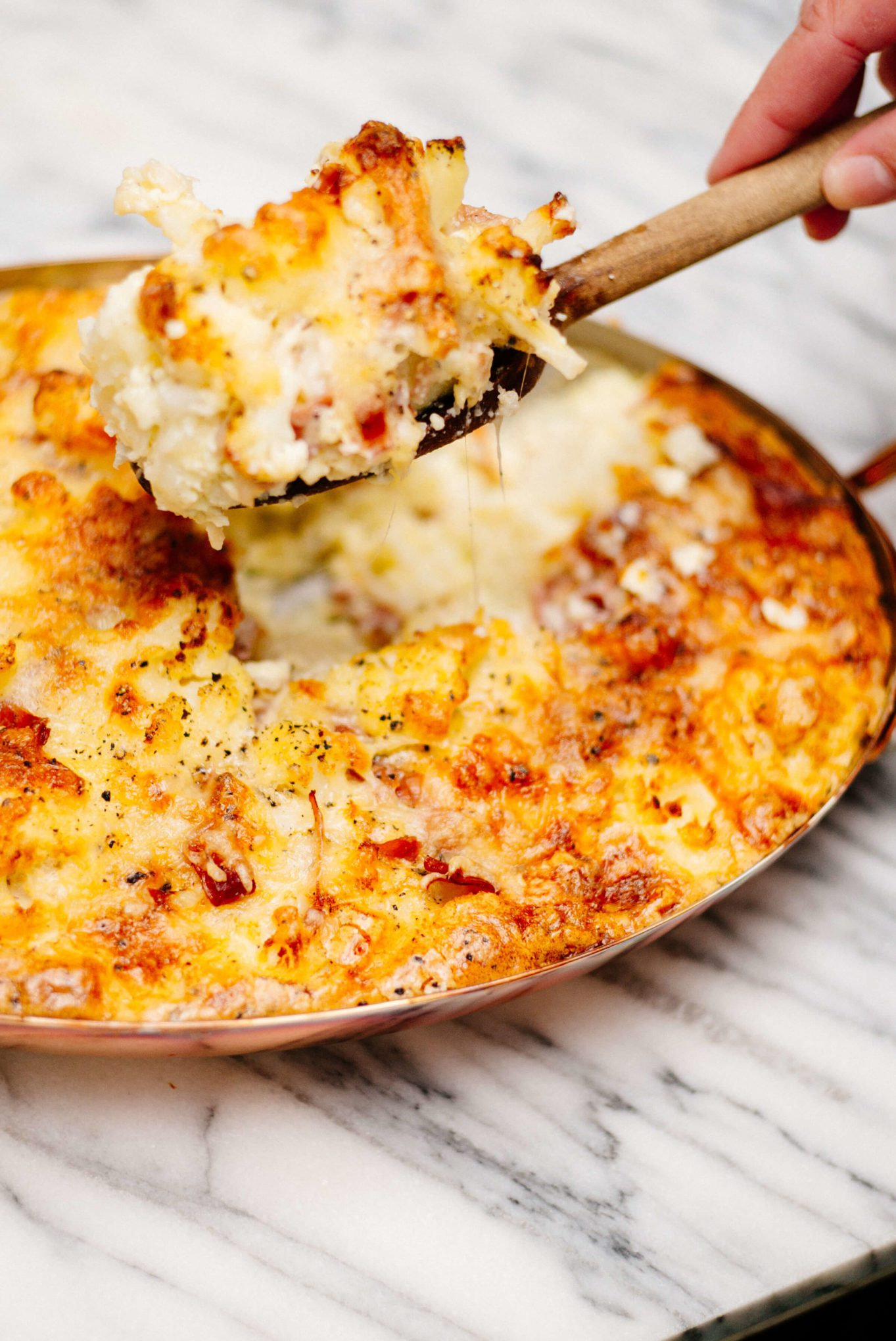 The Taste SF makes Cauliflower gratin in the fall and summer for dinner or a side dish