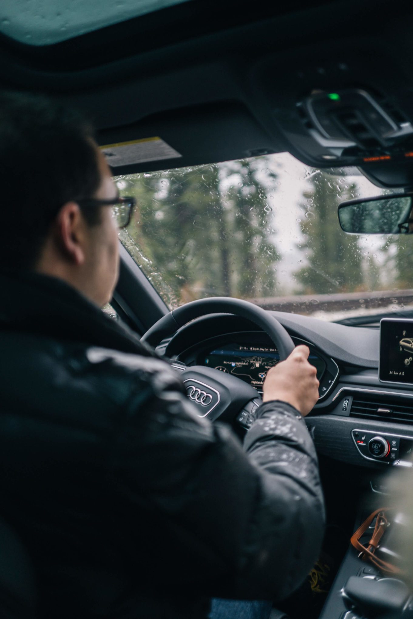 The Taste Edit drives the A4 Allroad Audi via audi on demand in tahoe
