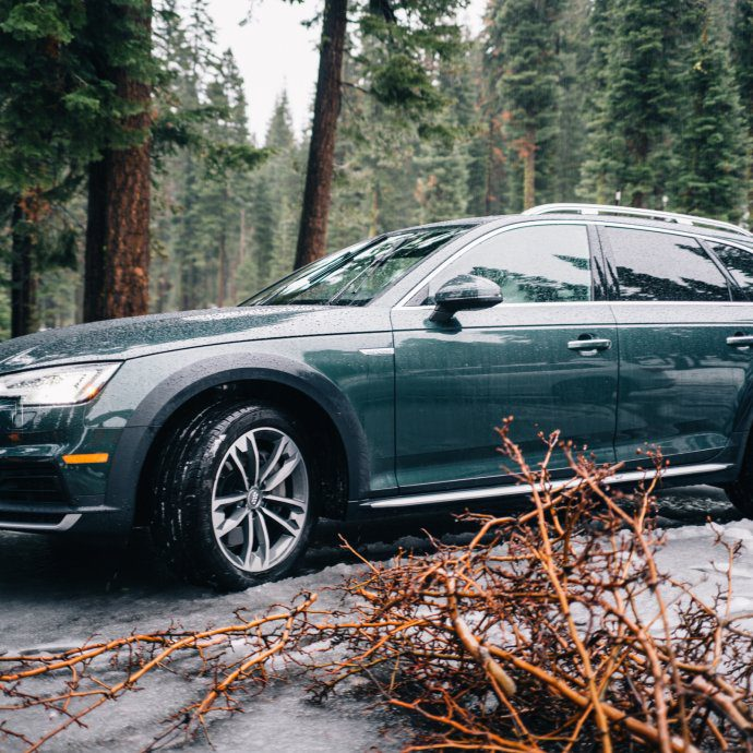 A5 allroad audi with audi on demand and the taste sf at northstar in tahoe california snow