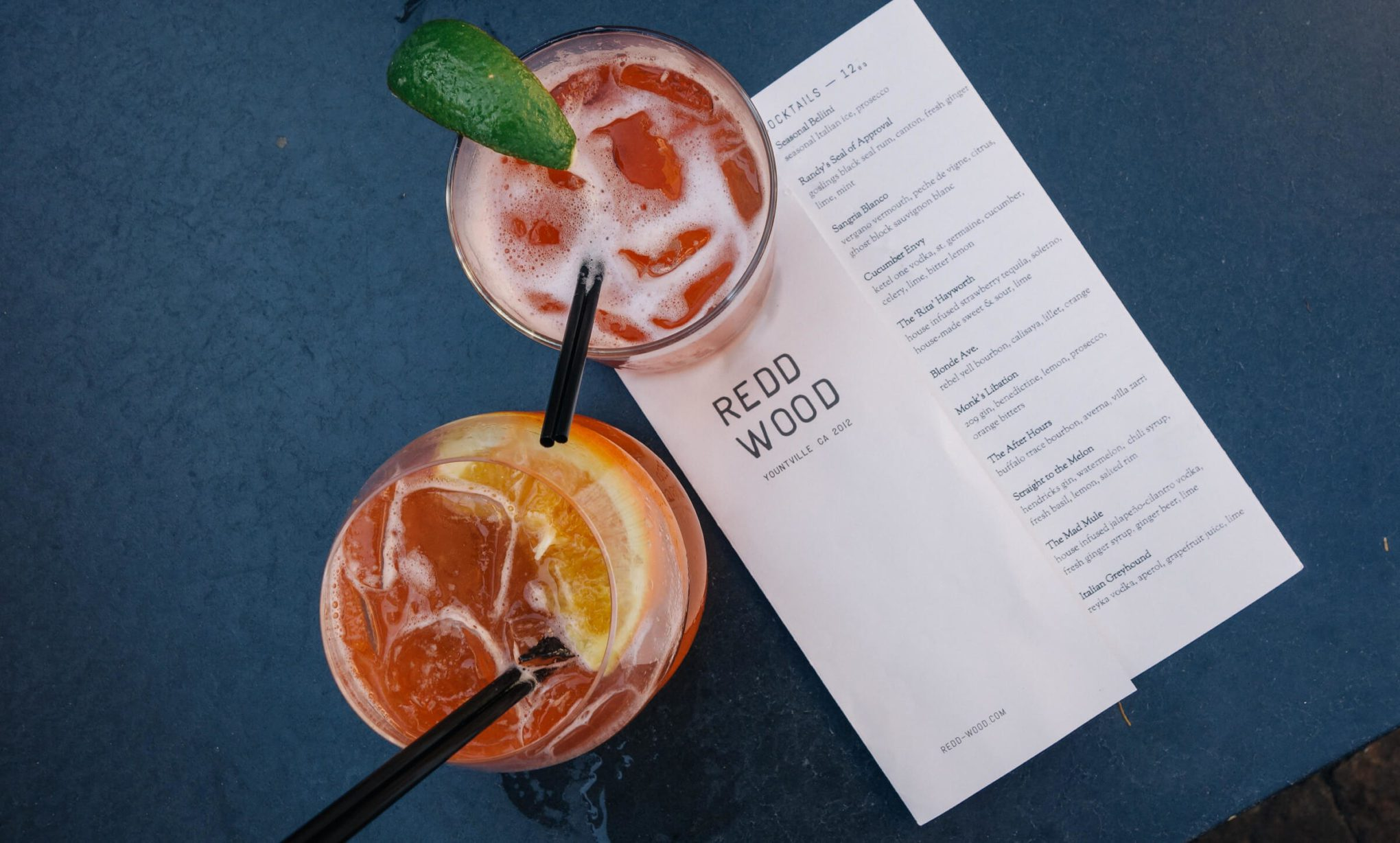 Redd Wood Cocktails in Yountville Napa with The Taste Edit