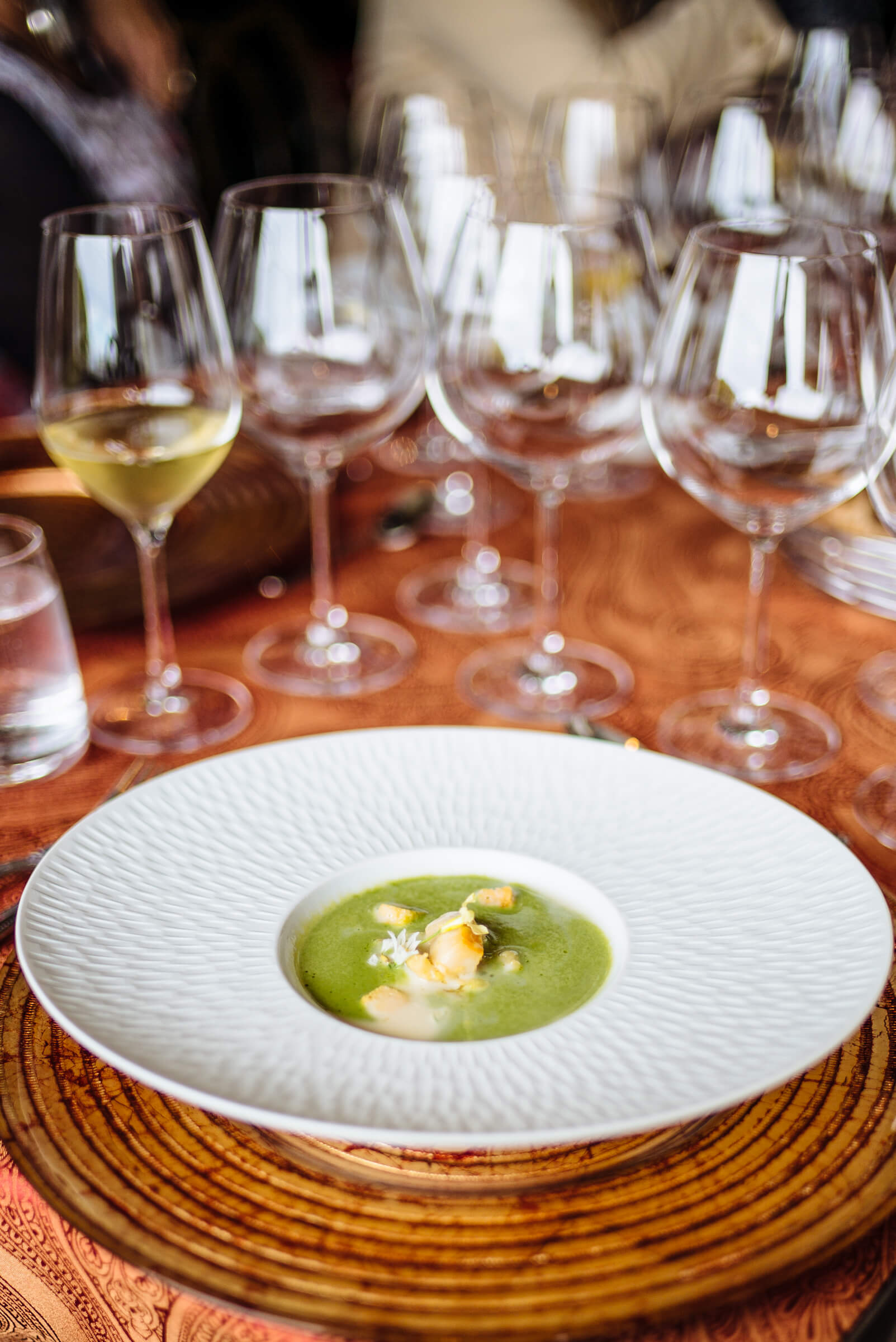 Michael Tusk Abolone Soup at Relais and Chateaux GourmetFest in Carmel - The Taste SF