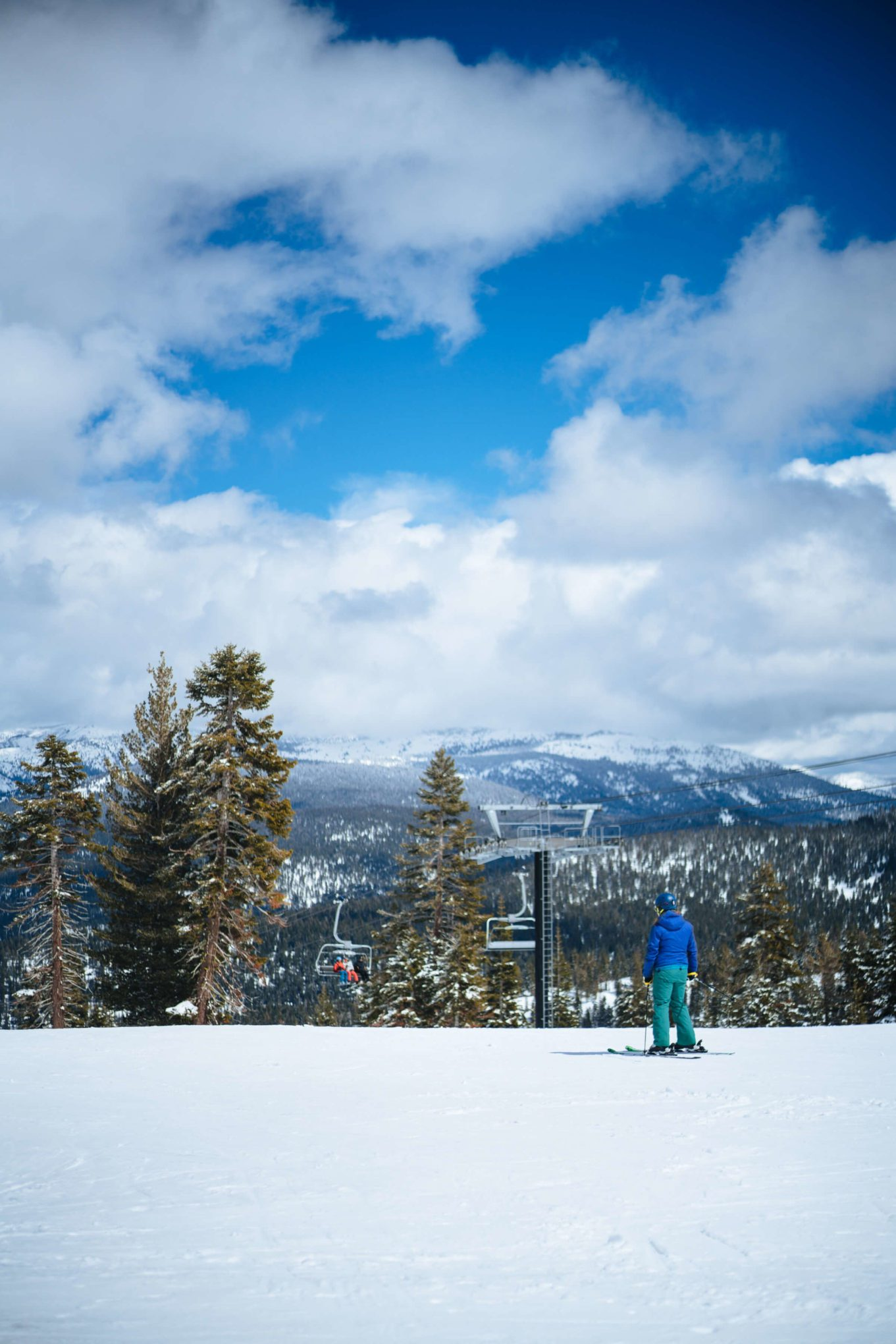 Guests ski on the slopes at northstar, an easy access to The Ritz-Carlton Lake Tahoe, The Taste Edit
