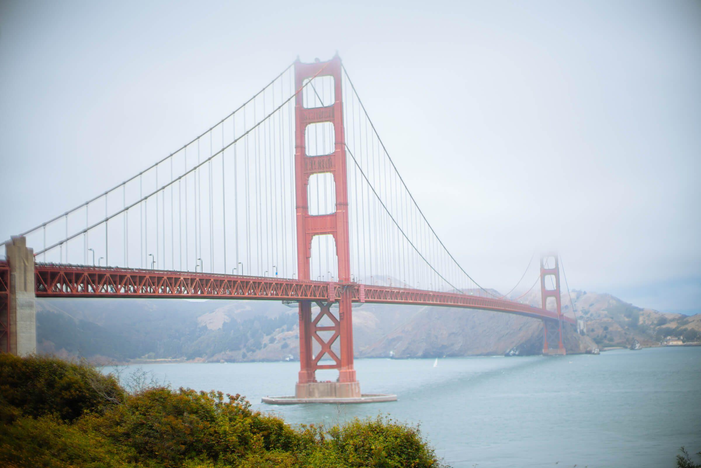 San Francisco Golden Gate Bridge, The Taste Edit