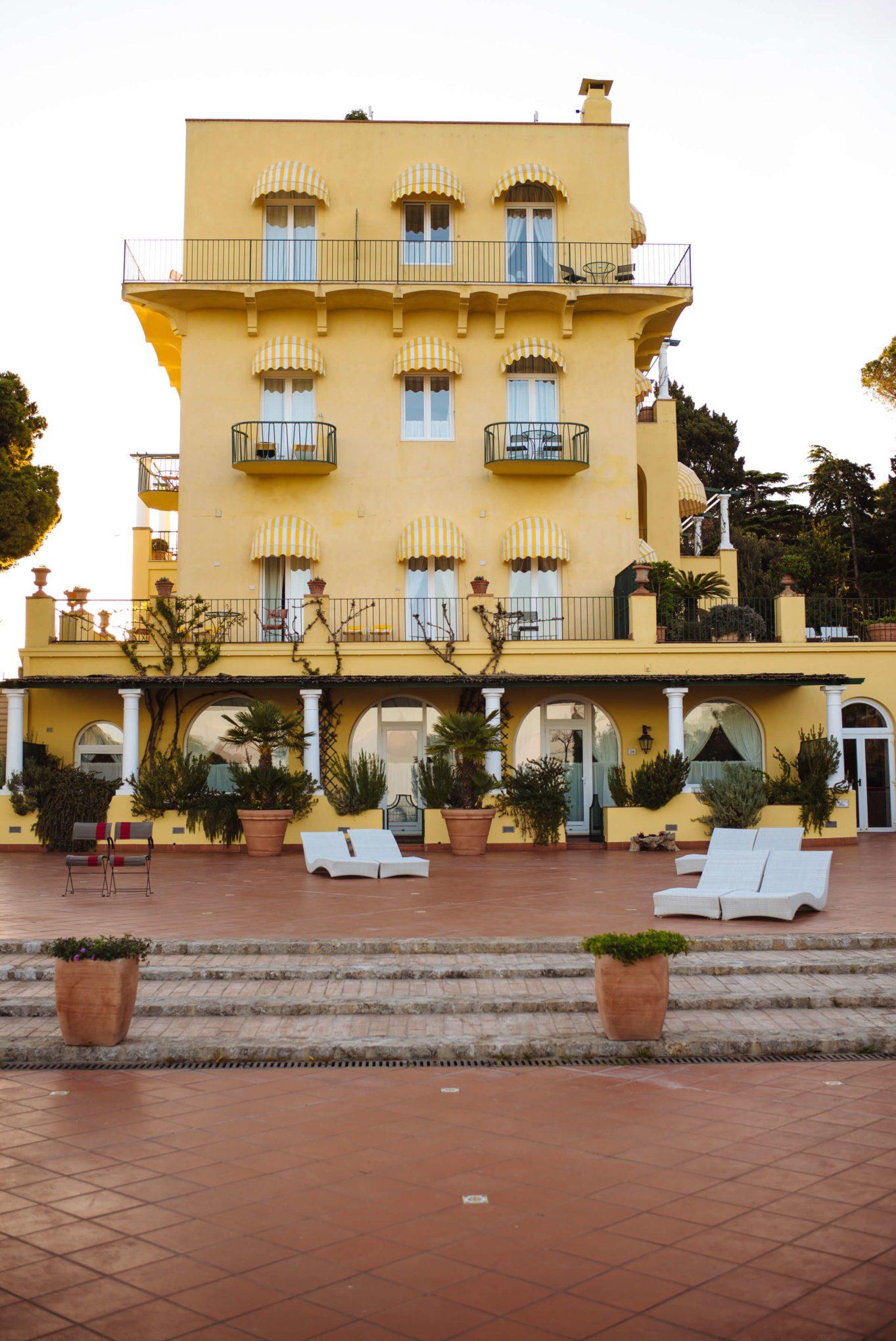 Hotel Caesar Augustus Capri Italy - The Taste Edit