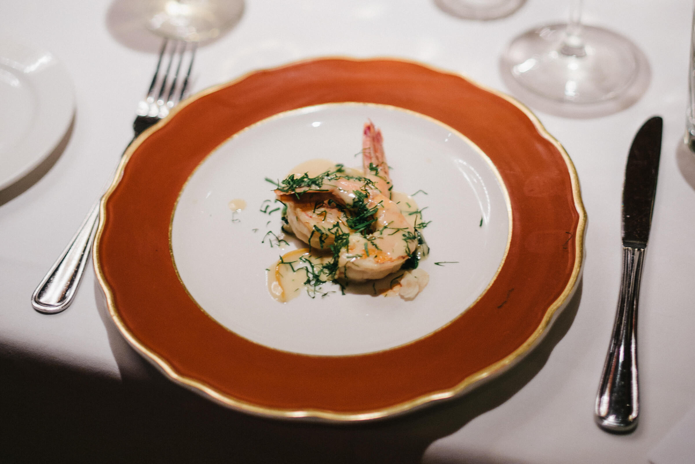 San Francisco's The Blue Fox Vintage Shrimp Scampi Alla Livornese Recipe, The Taste Edit