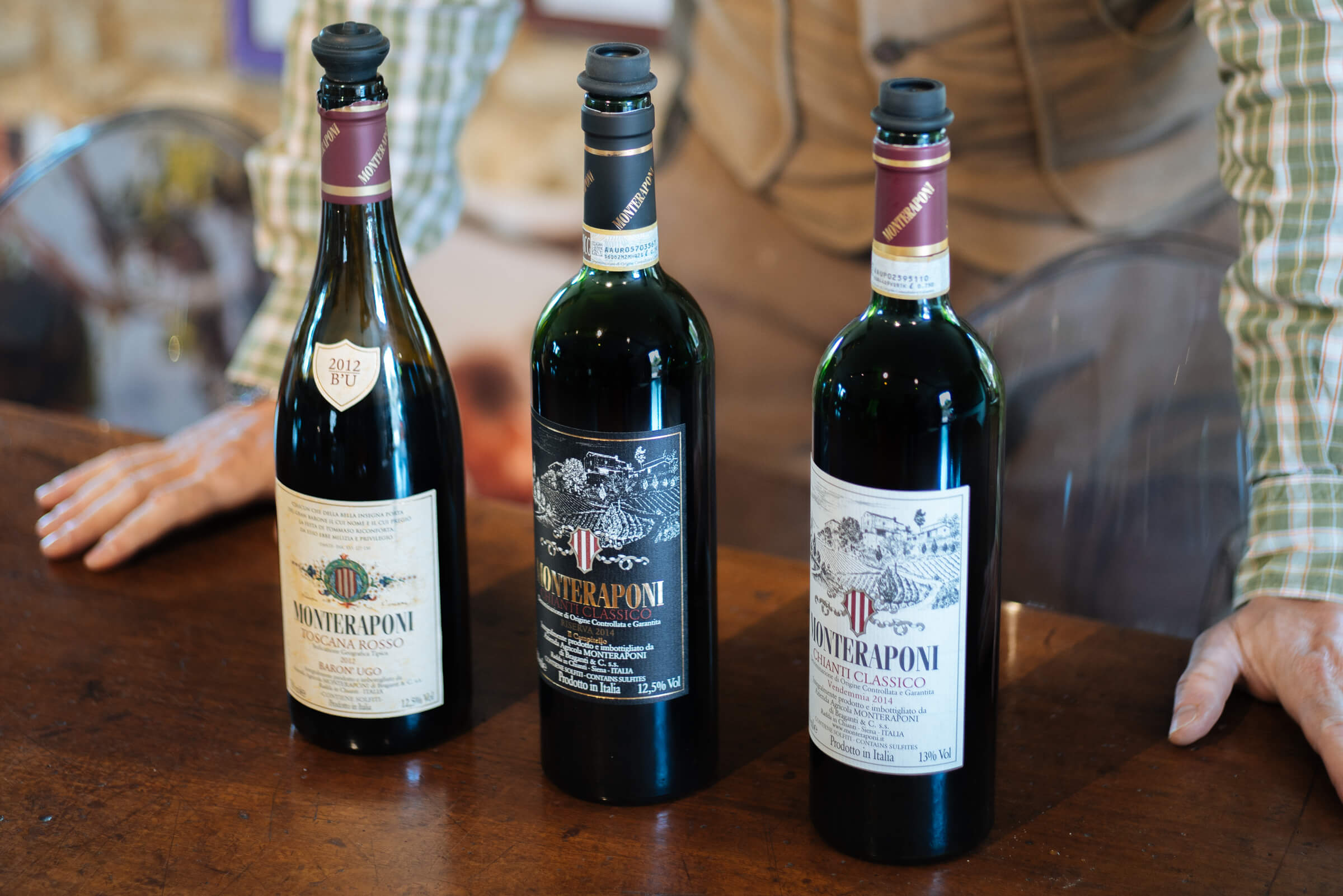 Montreponi is the best chianti wine around from Tuscany, The Taste SF