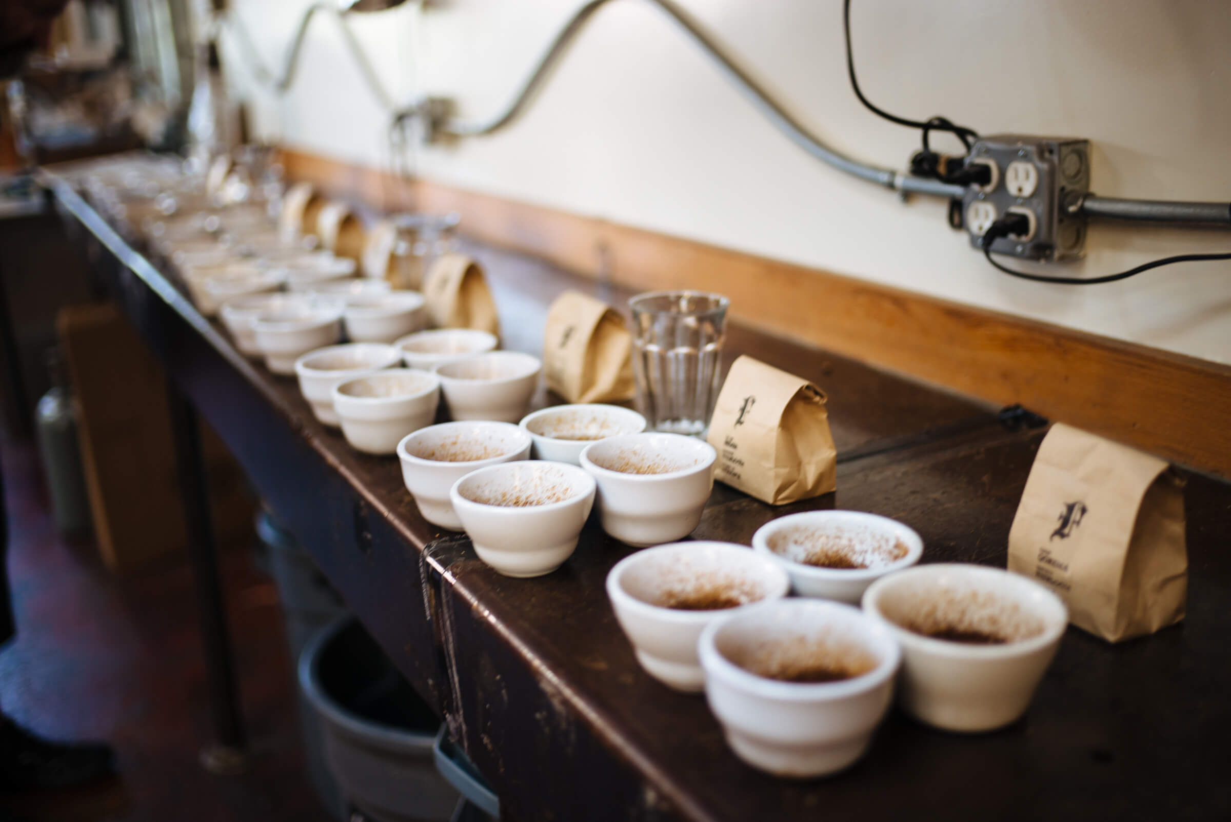 Cupping and tasting at Four Barrel Coffee in San Francisco, The Taste SF