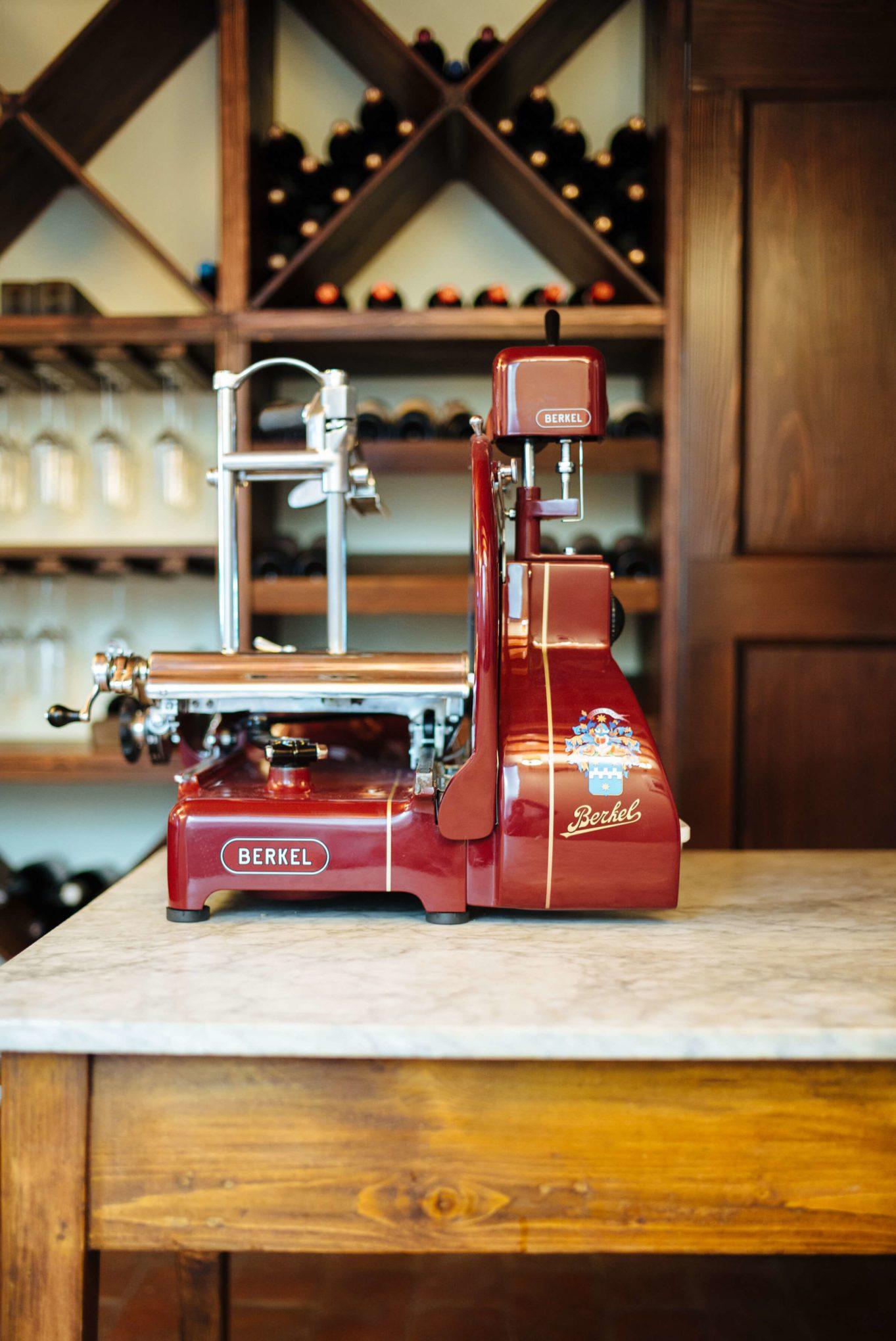 Berkel Slicer Espresso maker La Marzocco Factory Tour in Florence, The Taste Edit