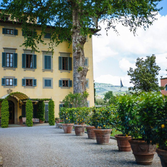 Villa La Massa is the perfect hotel to stay at in Florence Italy, The Taste Edit
