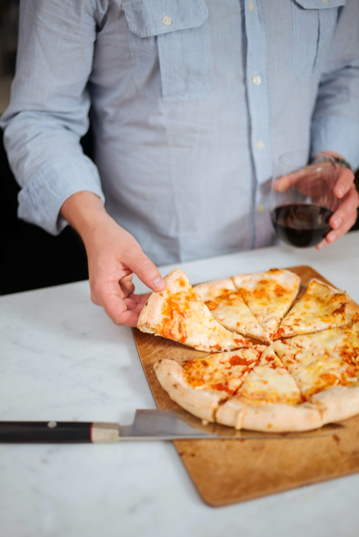 Italian wine from Whole Foods to pair with pizza for a quick dinner, The Taste Edit