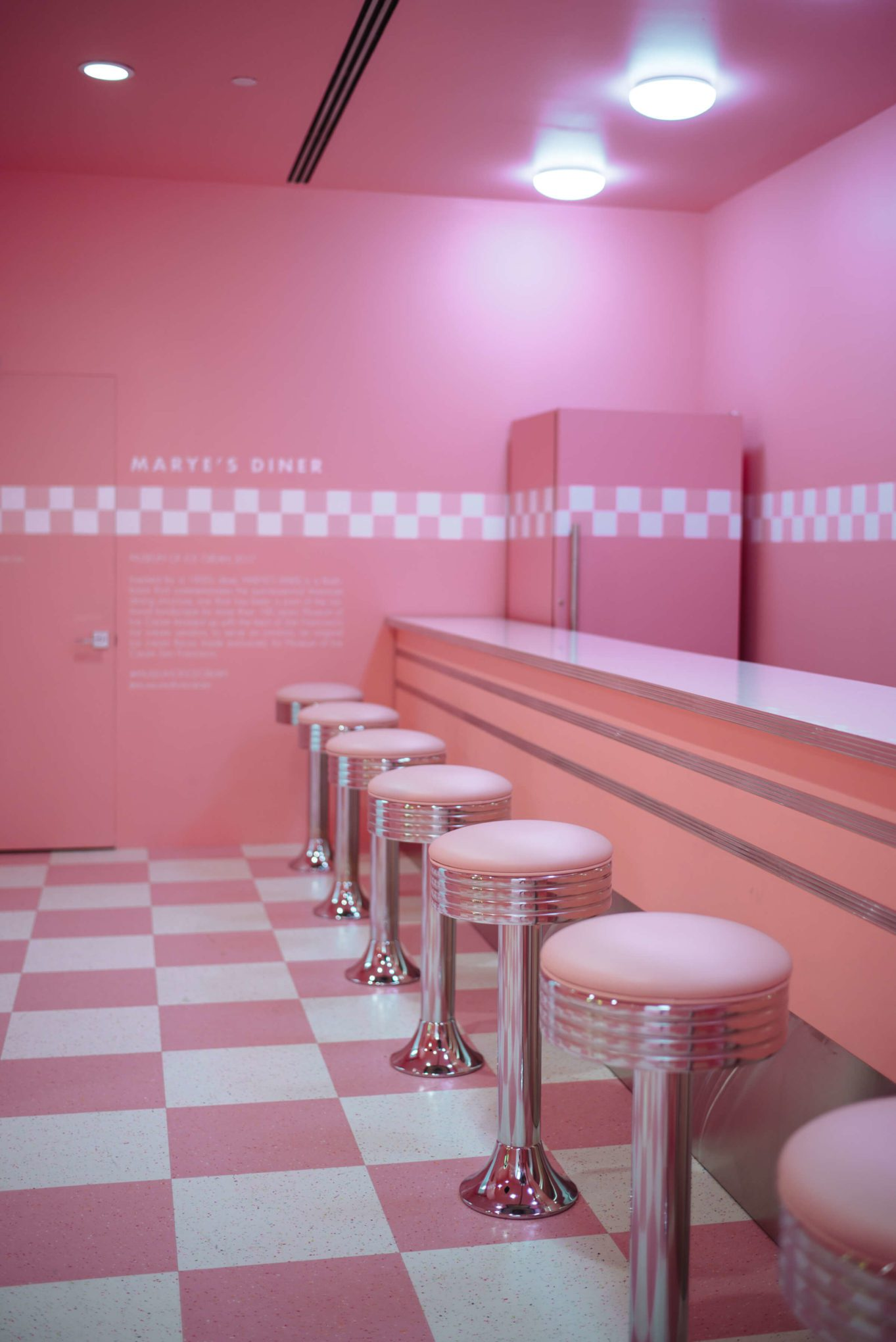 50s Dinner Soda Shop at The Museum of Ice Cream San Francisco, The Taste Edit