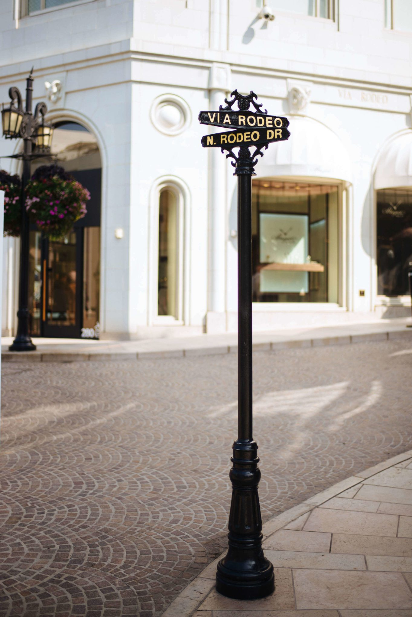 Rodeo Drive in Beverly Hills famous sign, The Taste Edit