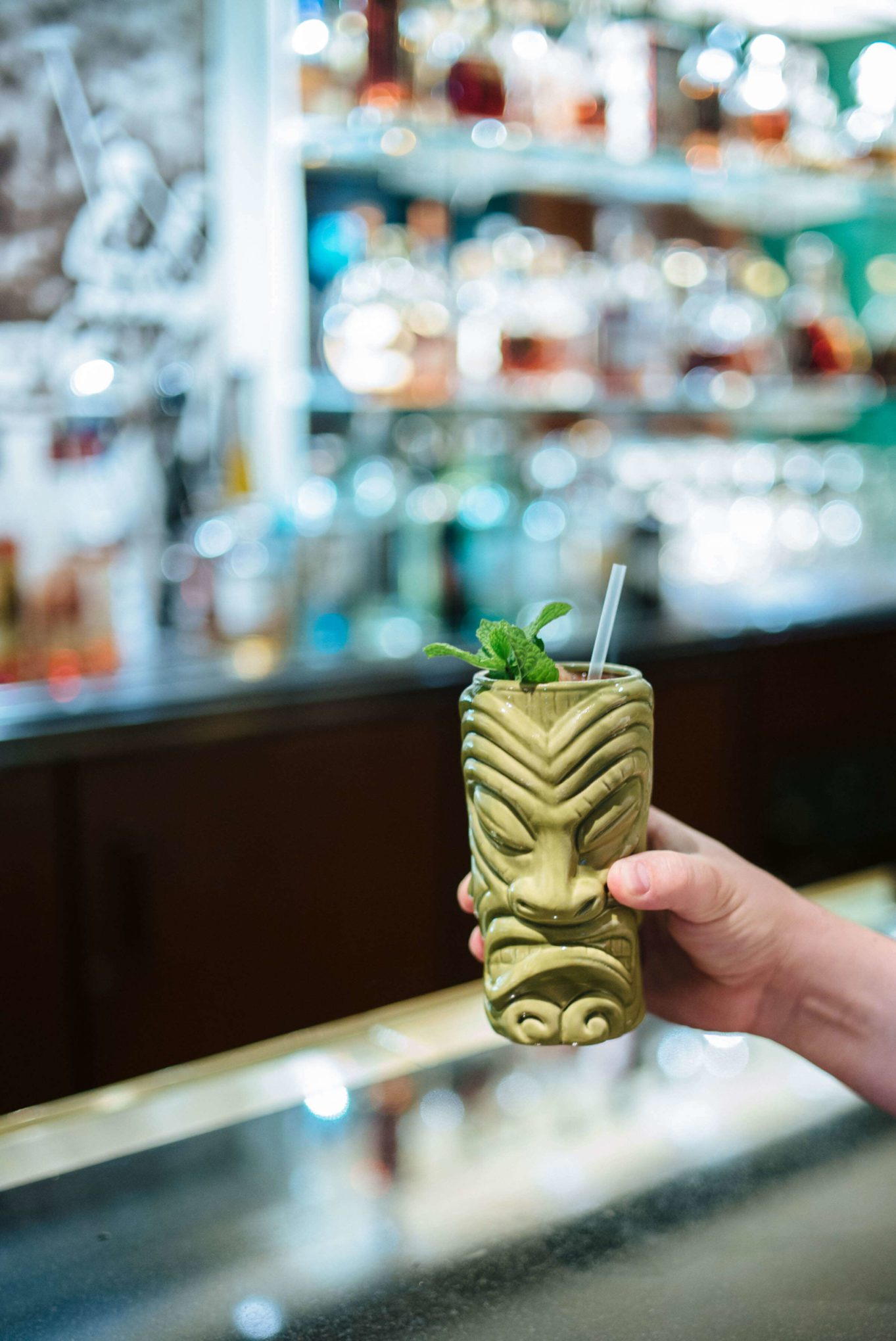 Tiki cocktails at The bar at the beverly hills hotel in Los Angeles, the taste edit