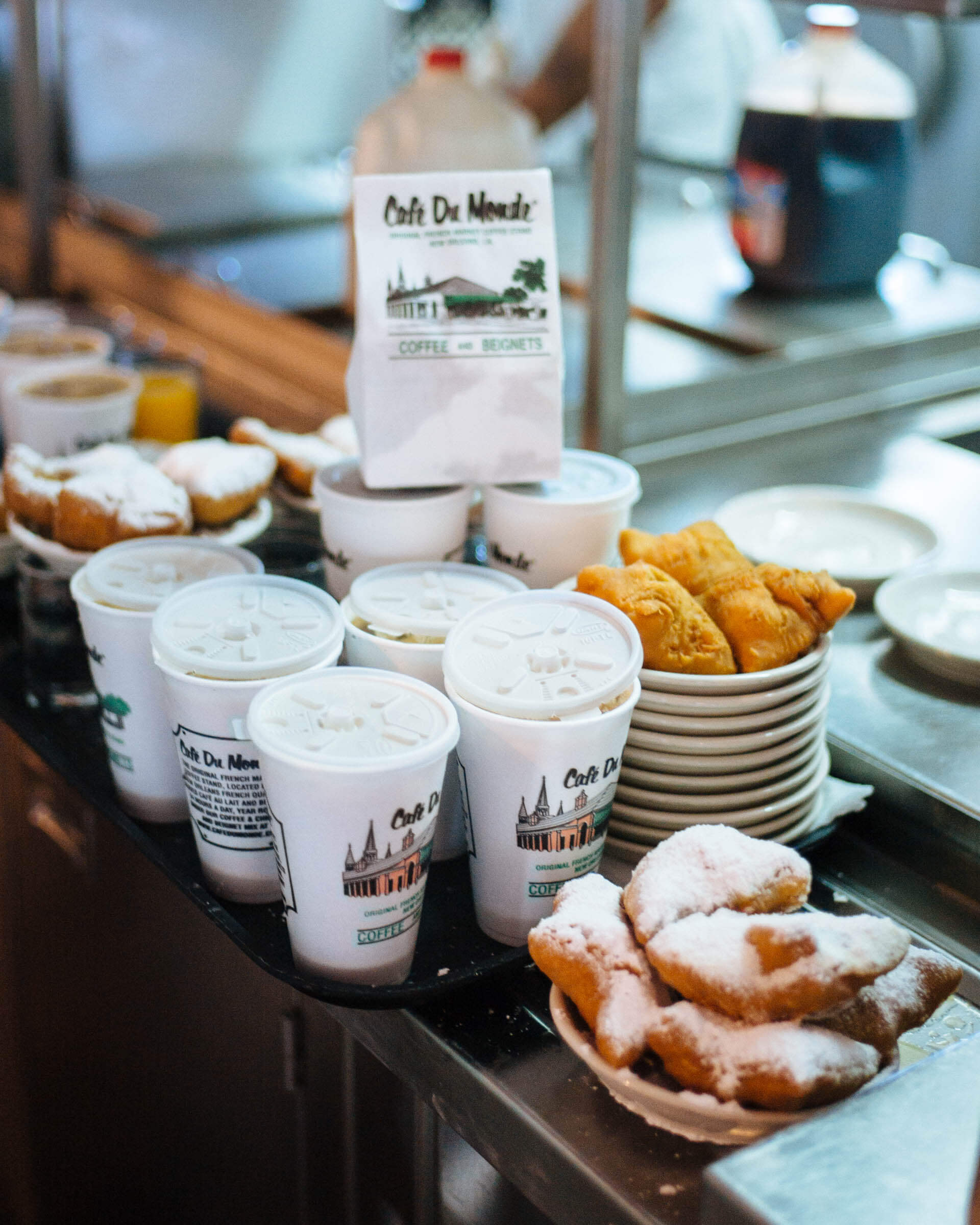 Where to get the best beignets cafe du monde in non touristy beignets in New Orleans, The Taste SF