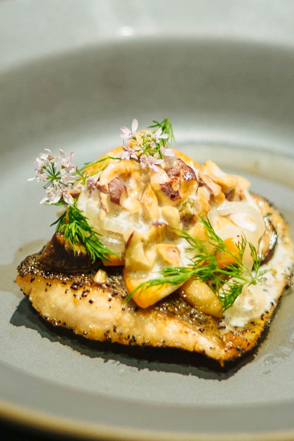 Feast of the Seven Cultures Trout from Paul Kahan at Acacia House in Napa Valley The Taste Edit