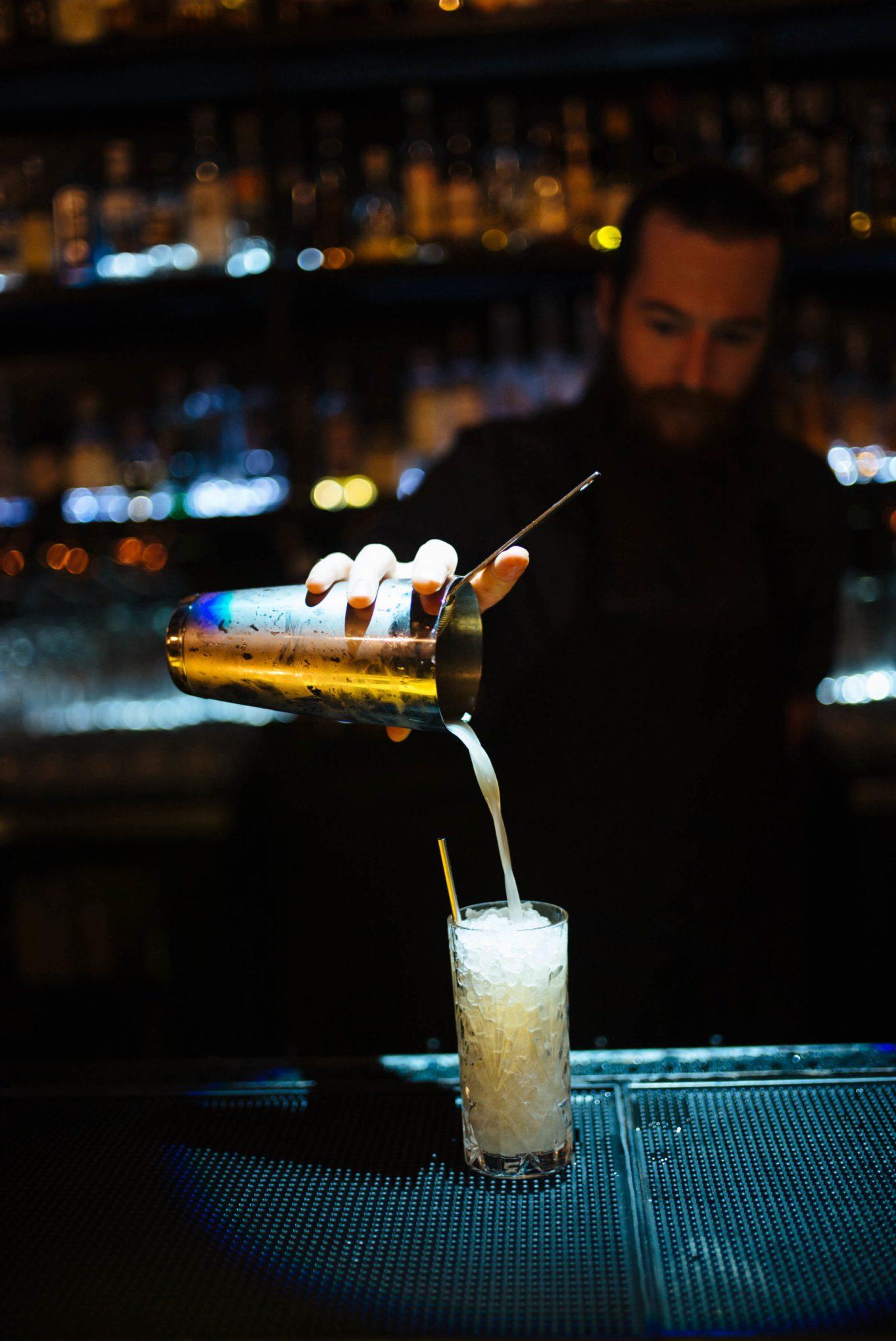 Drink cocktails at The Roosevelt Room in Austin find the best Austin restaurants here