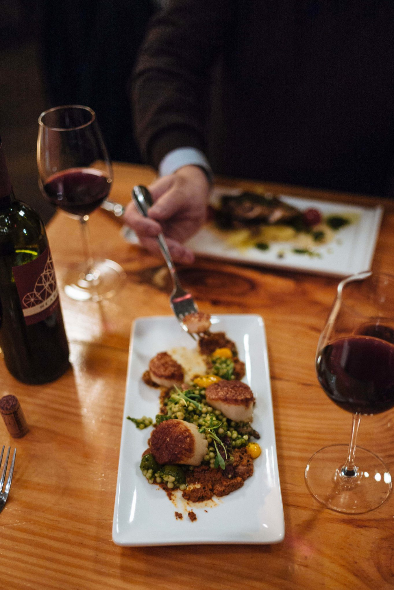 Try the scallops to Bluebeard for dinner next time you're in Indianapolis, thetastesf #restaurant