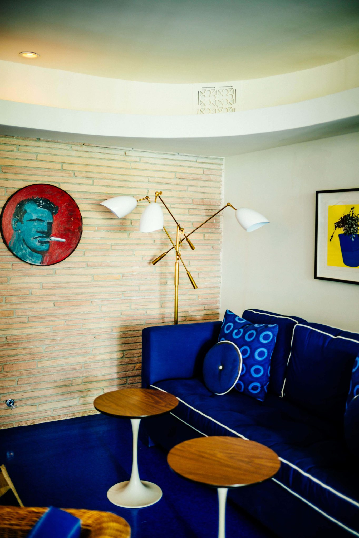 We love the decor at Holiday House in Palm Springs is an adorable hotel in the heart of downtown, The Taste SF