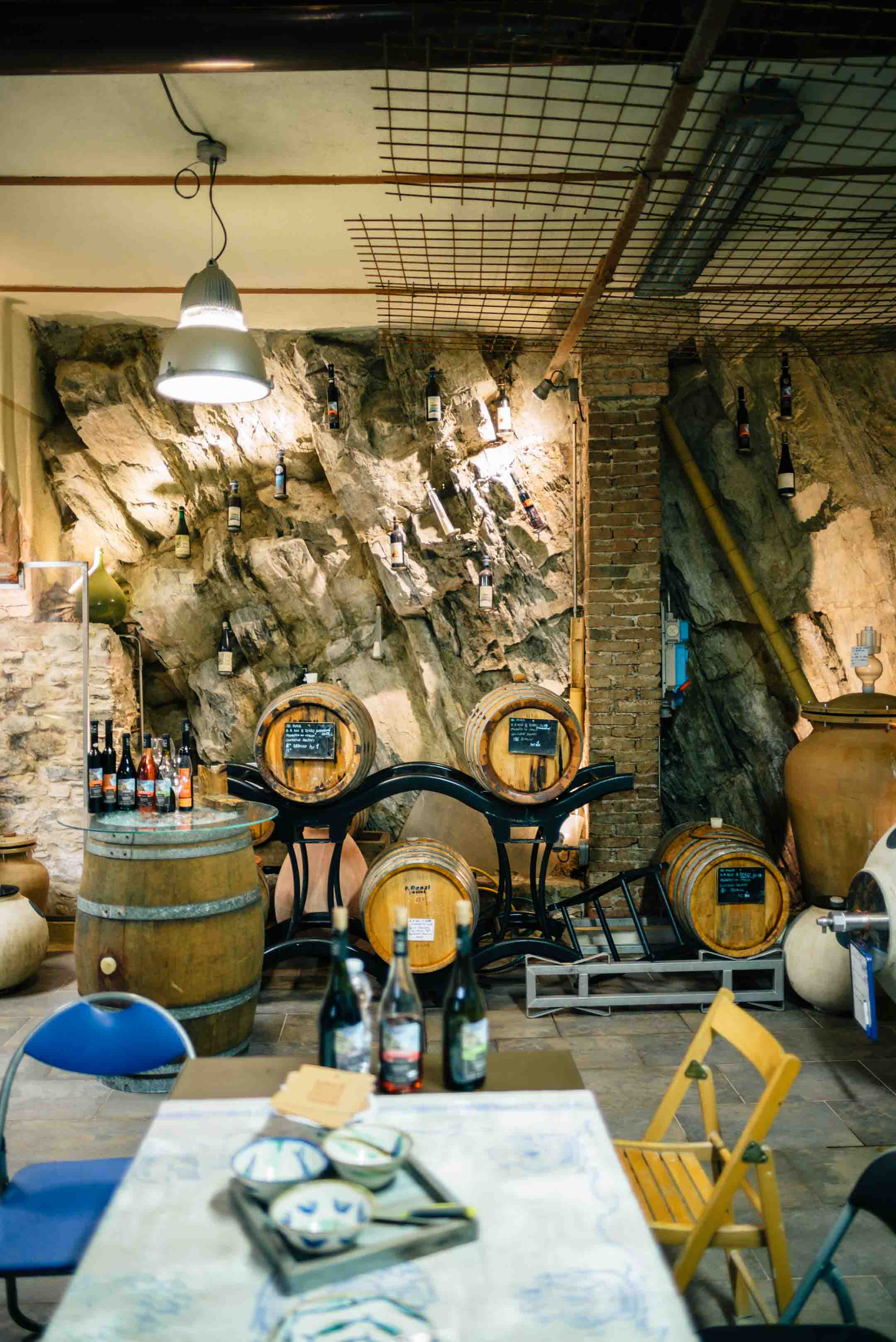 Visit the best winery in Cinque Terre, The Taste SF recommends to book an appointment for a wine tasting with Heydi Bonanini, winemaker at Azienda Agricola Possa winery. He ages his wine in chestnut and acacia barrels.