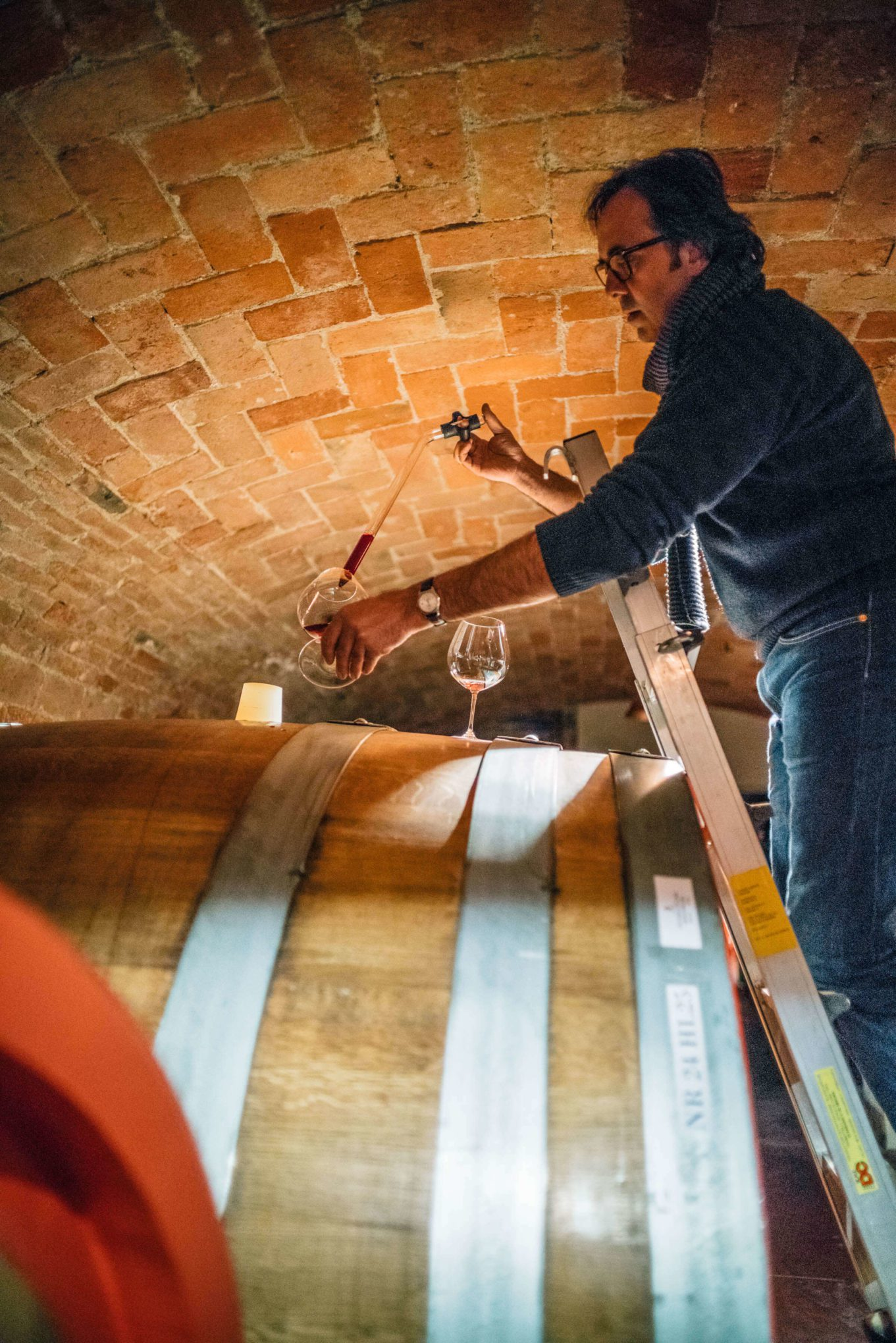 Do you love Barolo wine? Winemaker Mario Fontana gives us a barrel tasting of his traditional and natural wine in Barolo Piedmont Italy