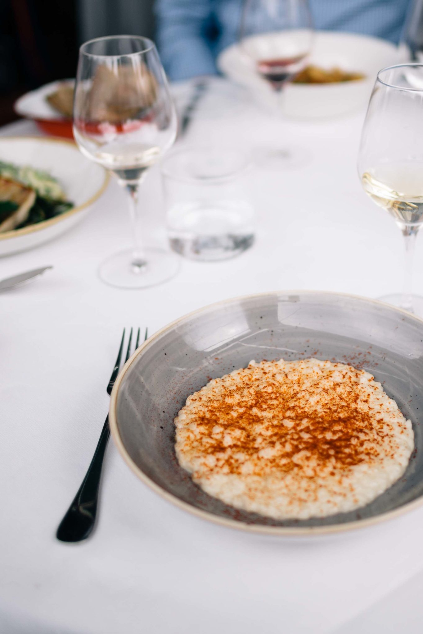 Try the saffron and lemon risotto at Erba Brusca for lunch just outside of Milan, Italy - The Taste SF