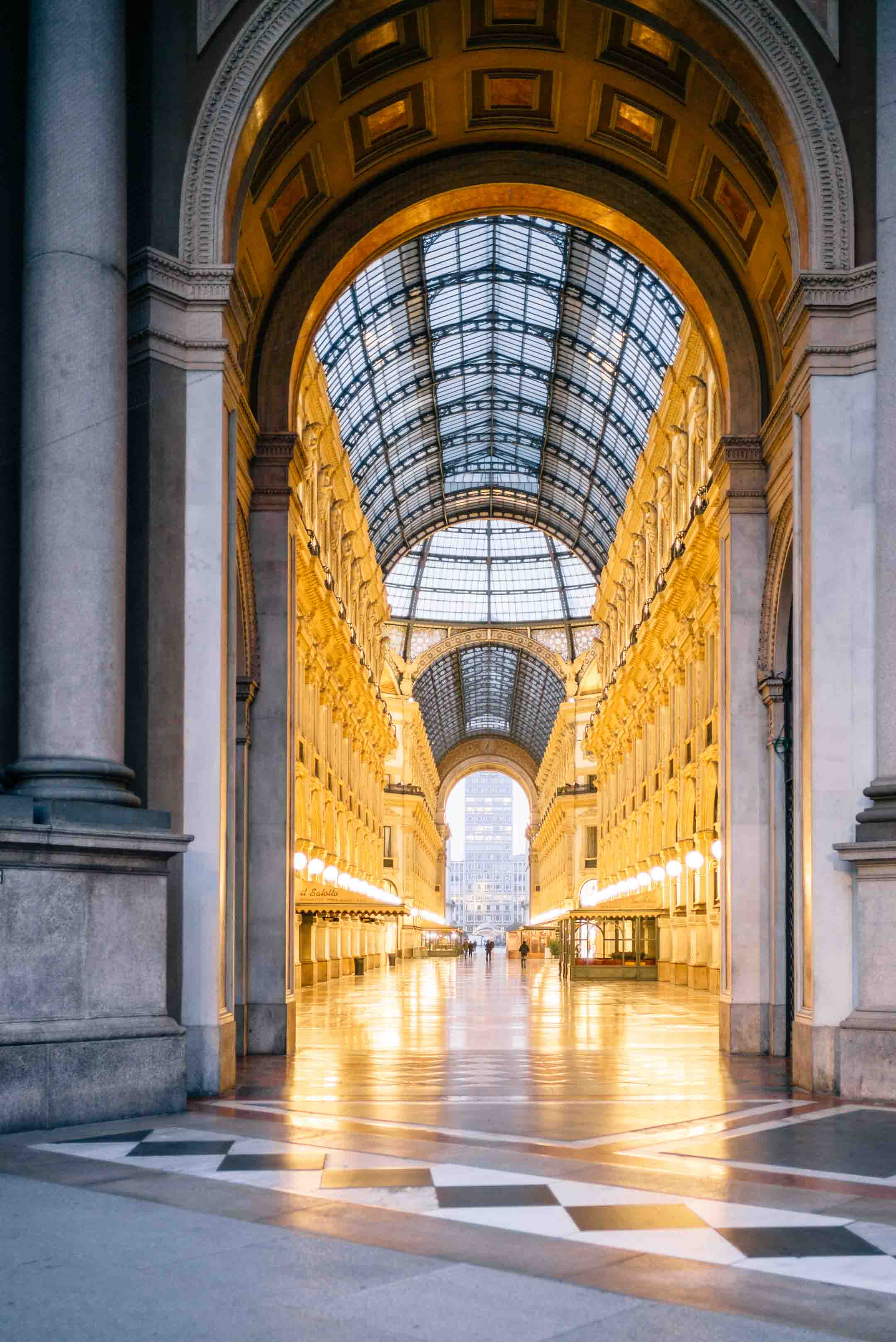 Visit the galleria vittorio emanuele in Milan, Italy The Taste Edit