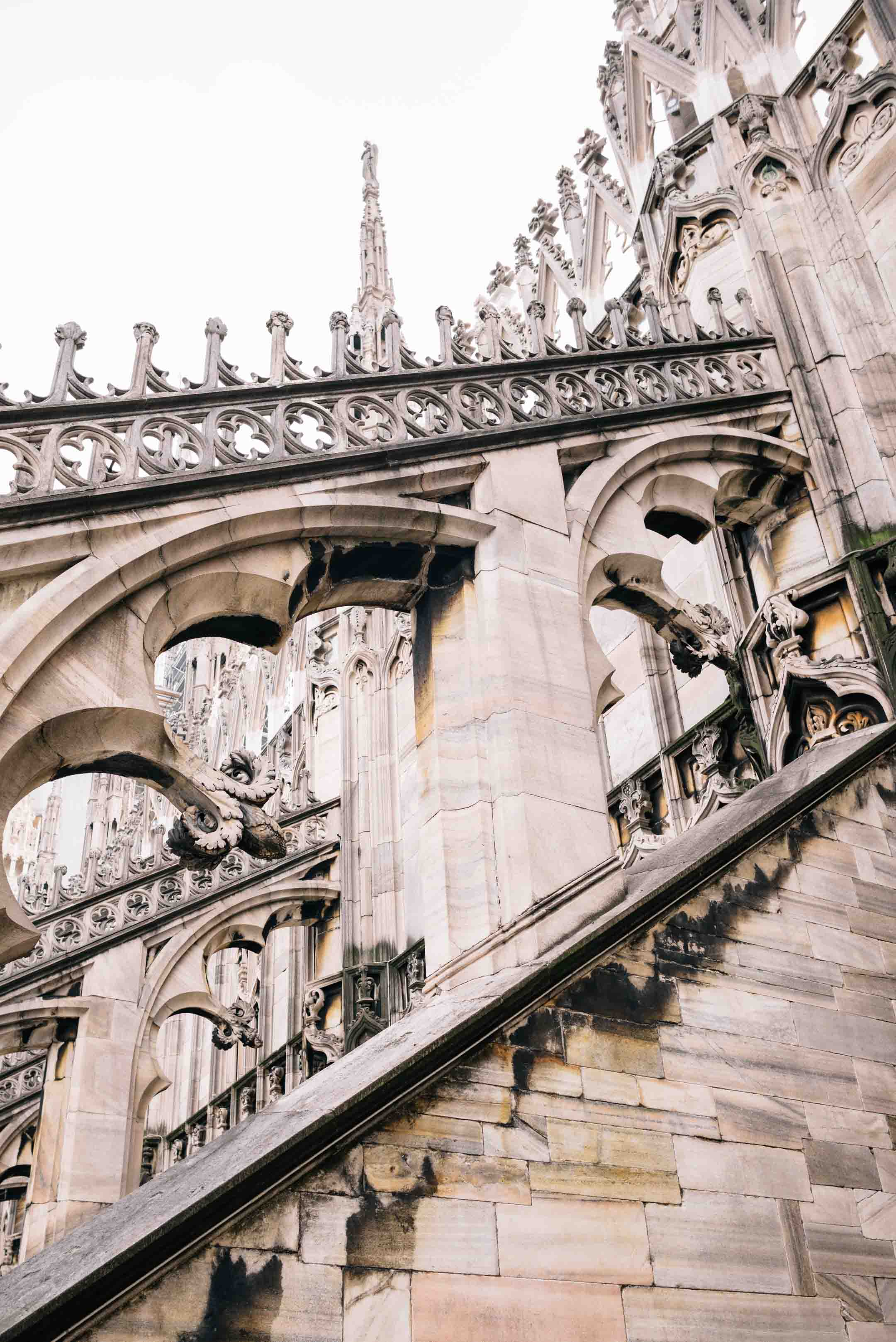 Get insider tips on your visit the milan cathedral duomo di milano, climb to the roof and see the beautiful architecture and the entire city of milan, The Taste Edit