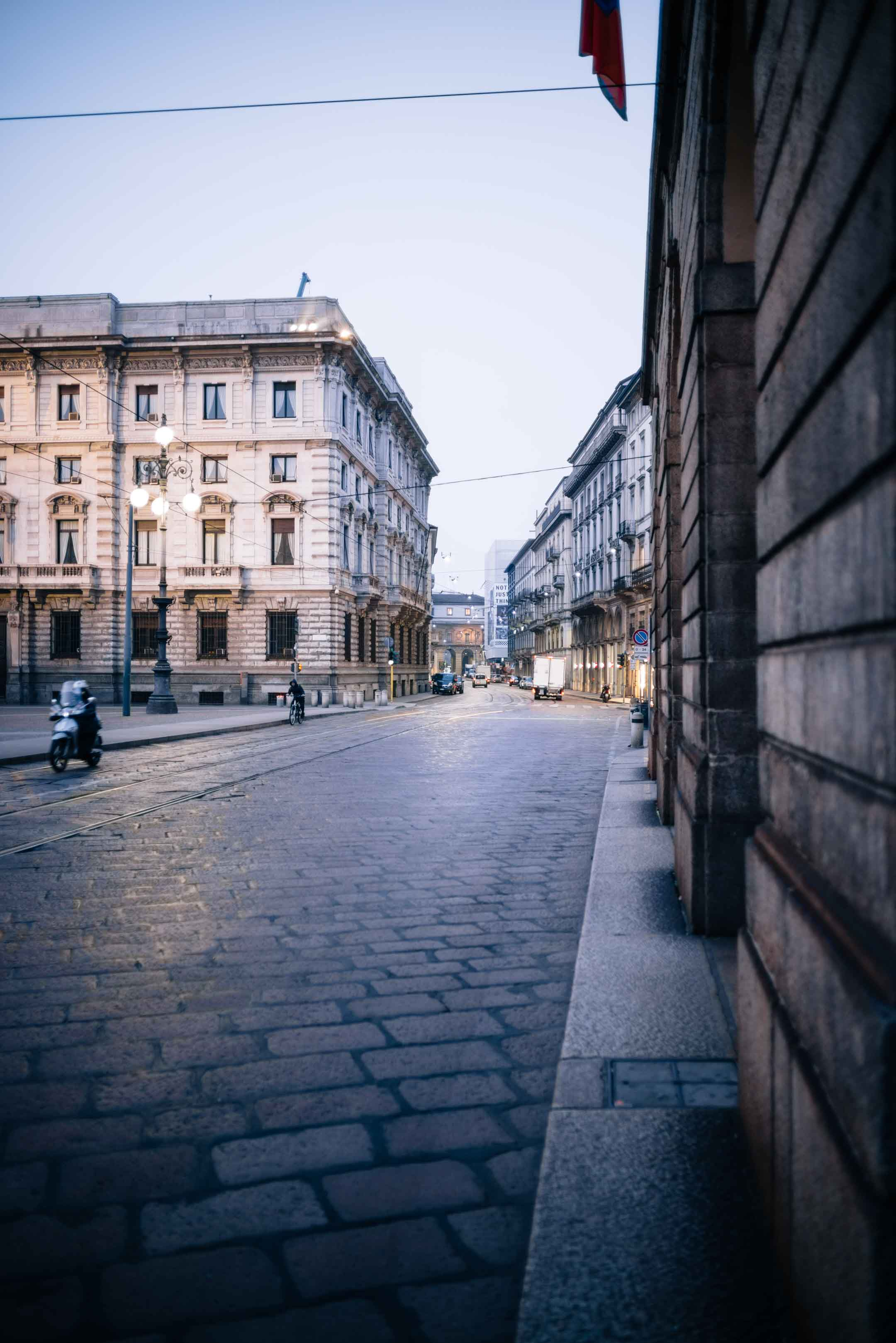 Streets of Milan - Early morning strolls around Milan, Italy - see a snapshot of Milan for your next vacation, The Taste Edit