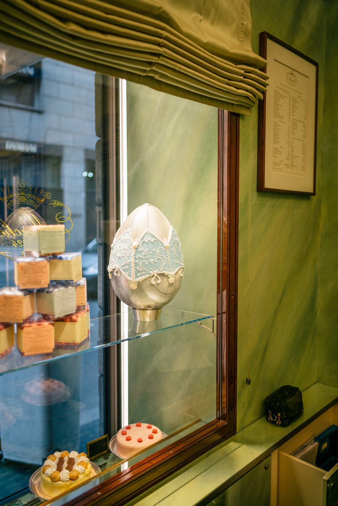 Easter at Pasticceria Marchesi in Milan for coffee and pastries in Milan, The Taste SF