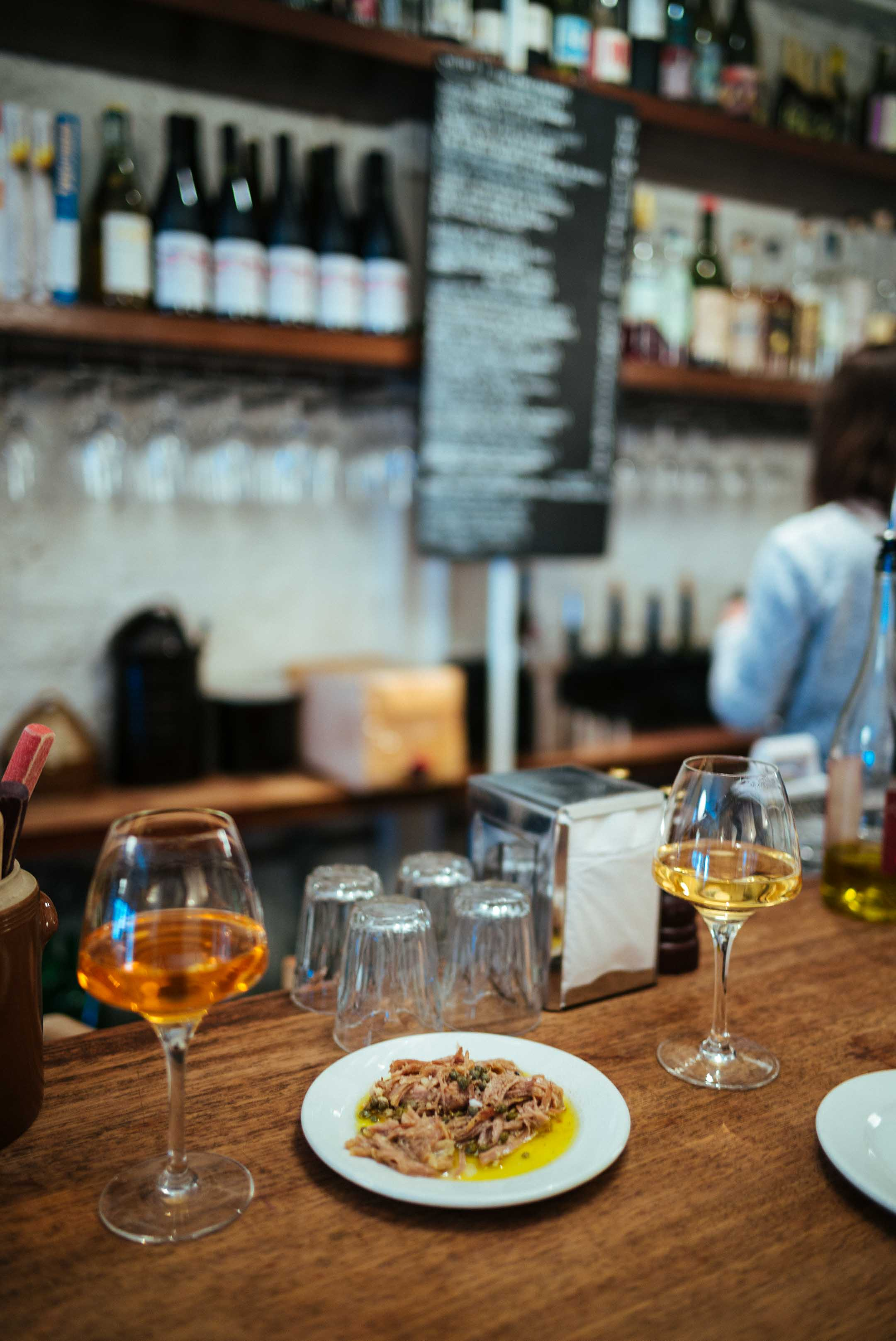 The Taste Edit suggests going Ducksoup to eat or a glass of natural wine - it's the best restaurant and natural wine bar in London. You'll find daily changing menu filled with simple and seasonal dishes.