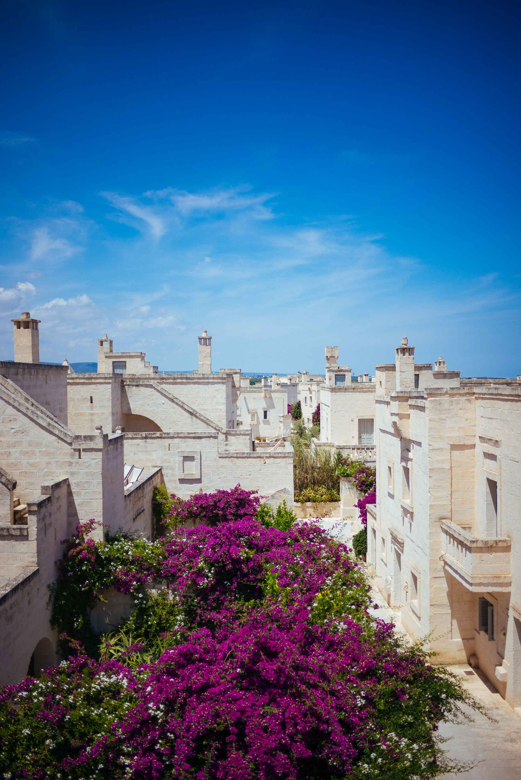 Borgo Egnazia in Puglia is the full luxury hotel for your romantic getaway to Italy with a view of the sea from the top of your villa