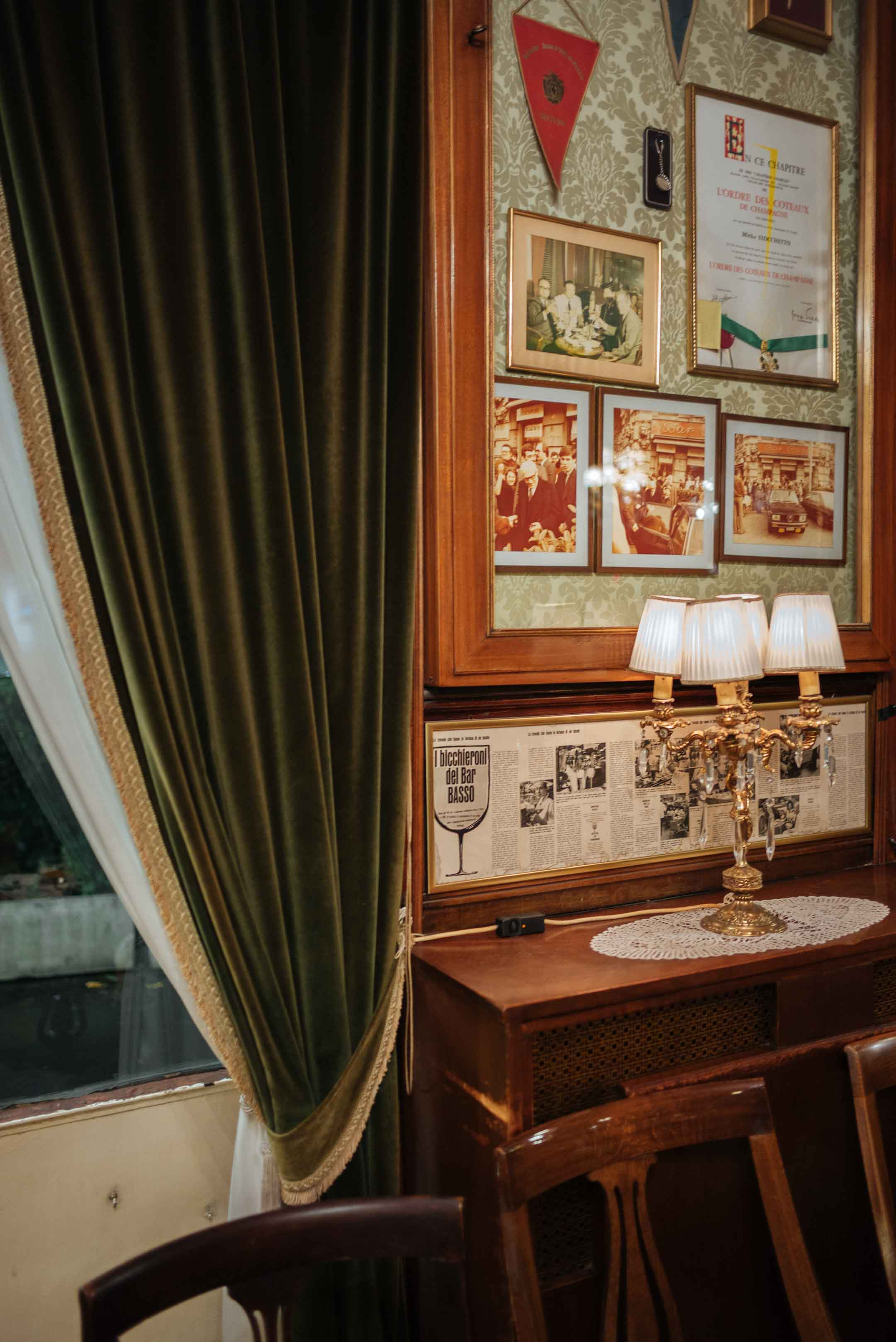 Visit Bar Basso in Milan, where the Negroni sbagliato was invented