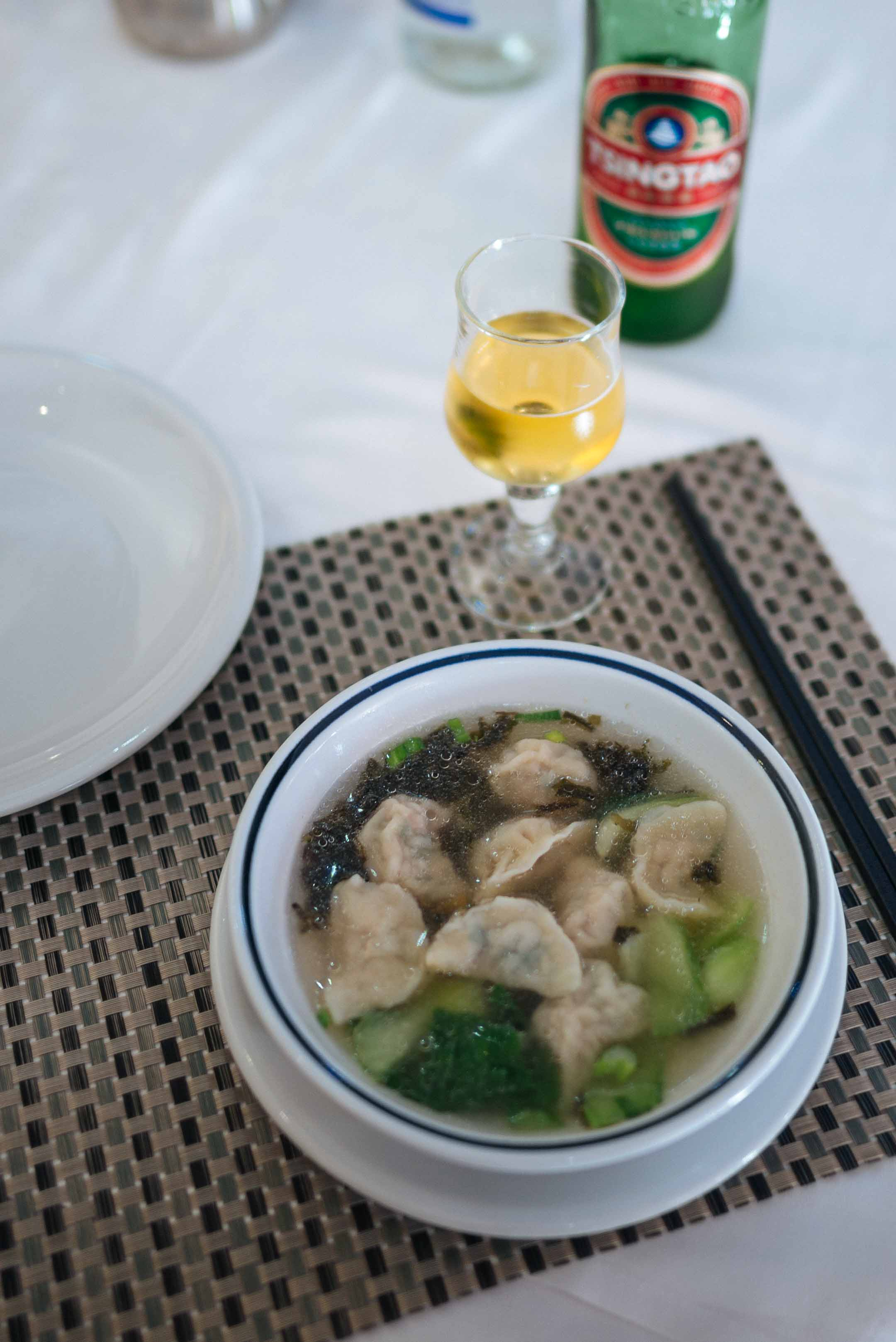 We found the best restaurant in Torino Italy for Chinese food with delicious wonton soup.
