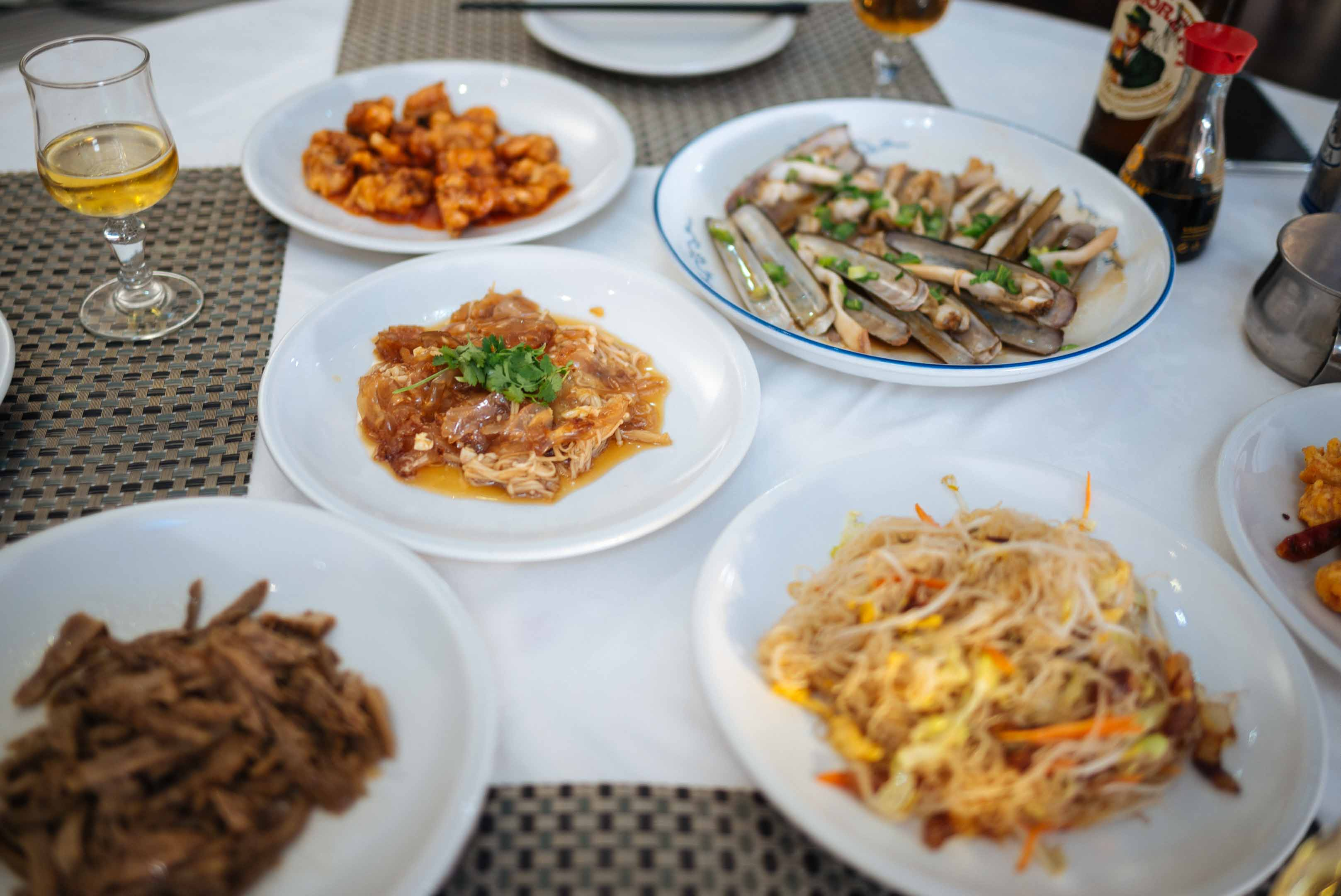 You'll find the best Chinese food in Torino at Grande Muraglia where locals go for pork, seafood, and even jellyfish dishes in Italy