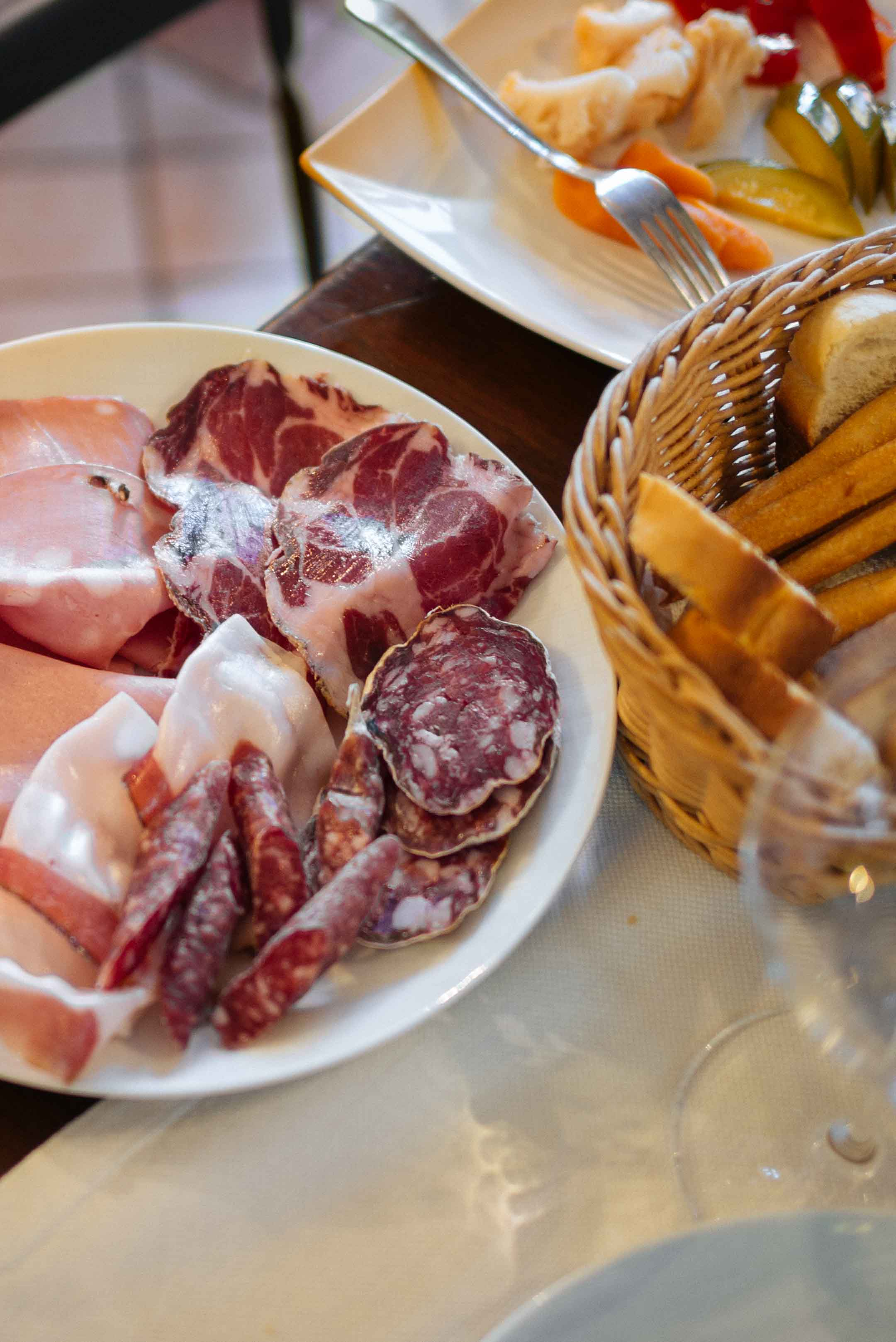 Go to Vinoteca Centro Storico in Serralunga for good food and amazing local wines and champagnes