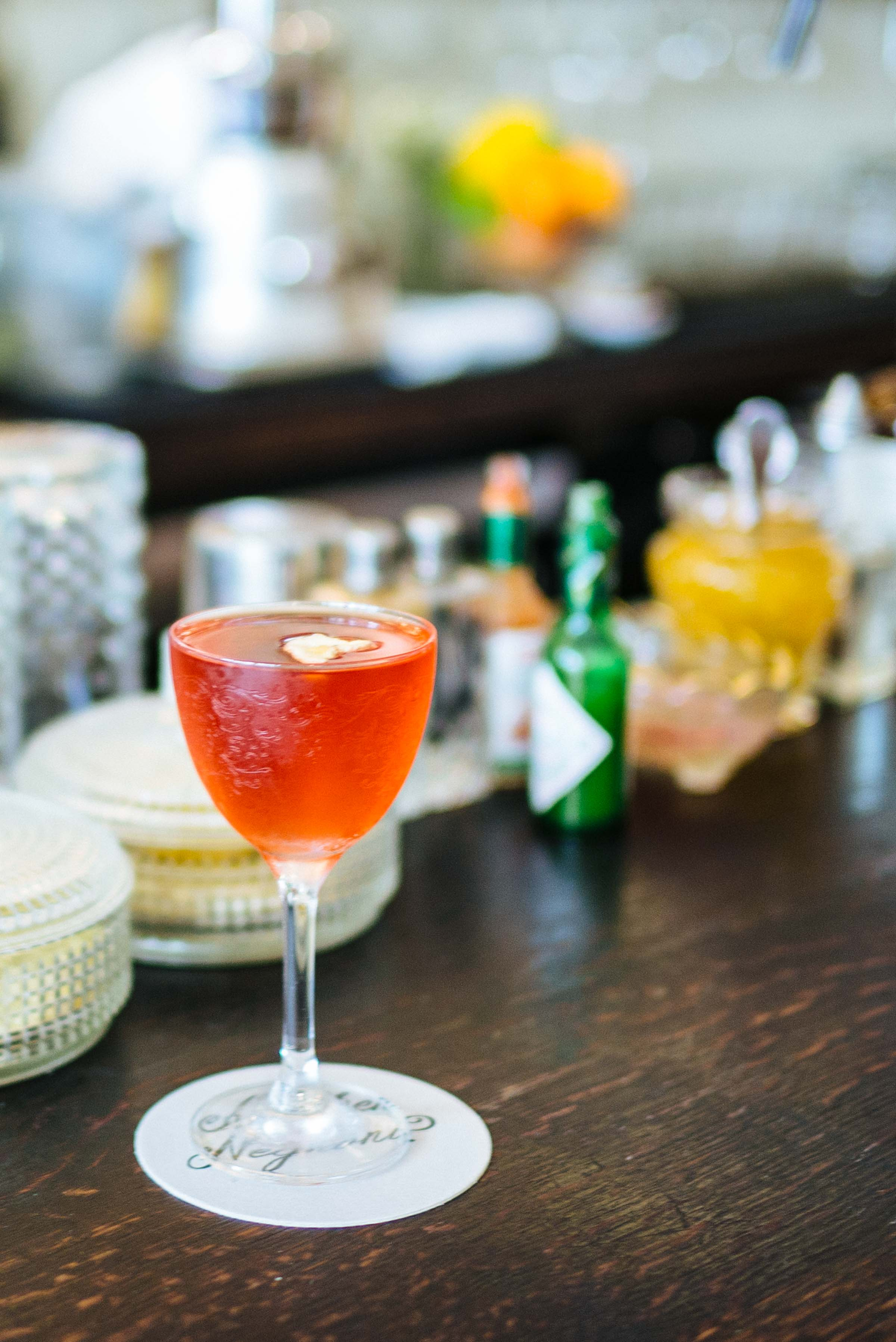 Order a negroni at the negroni bar Dante in New York, photo by Sarah Stanfield of The Taste Edit