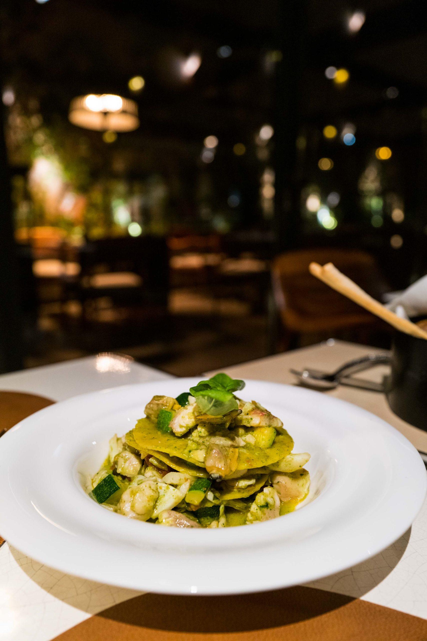 Lasagna Il Giardino Ristorante at the Hotel Eden Rome, The Taste Edit #hotel #rome #italy #restaurant