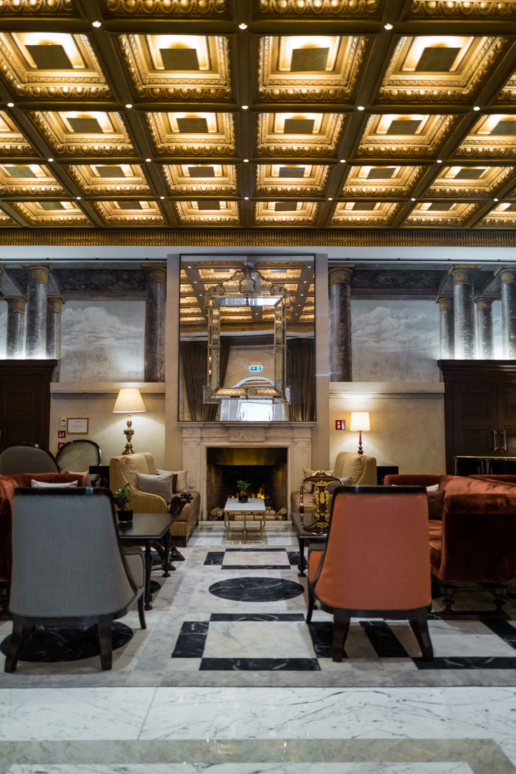 The lobby even has a secret bar at the Hotel Eden Rome, The Taste Edit #hotel #rome #italy