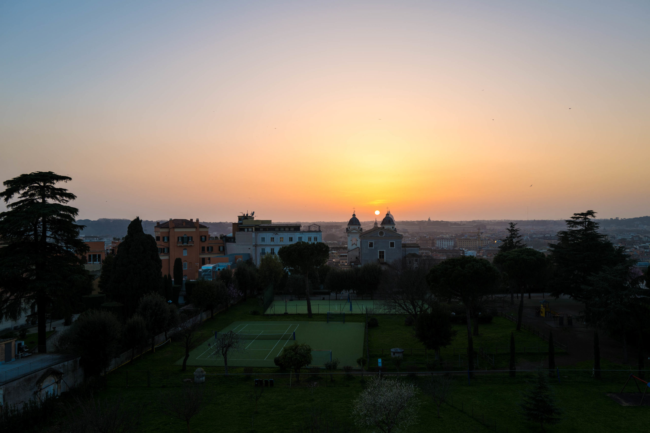 The perfect sunset view at Hotel Eden Rome, The Taste Edit #hotel #rome #italy #sunset